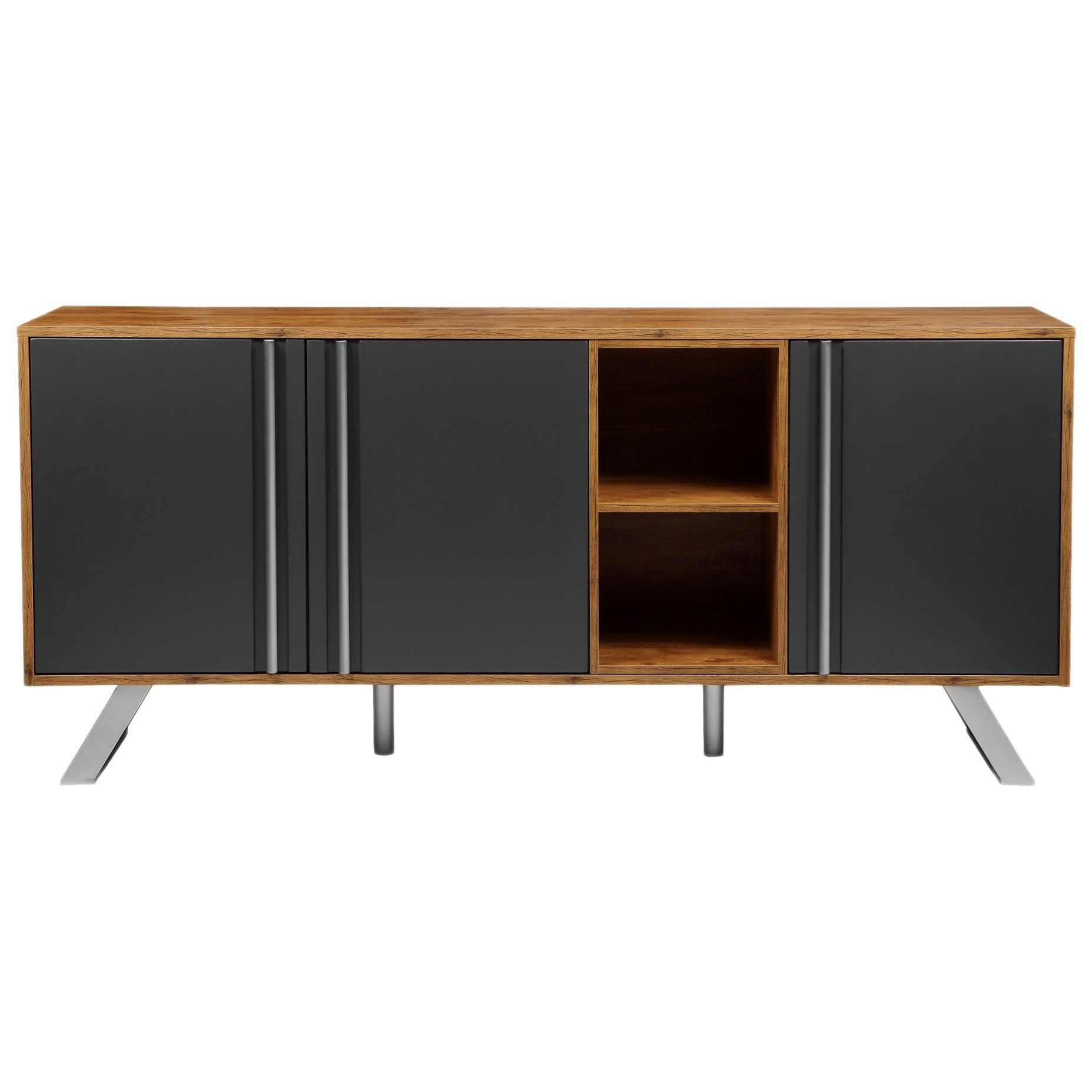 Moe's Home Collection Jensen Contemporary Sideboard With 8 For Contemporary Black Buffets (View 23 of 30)
