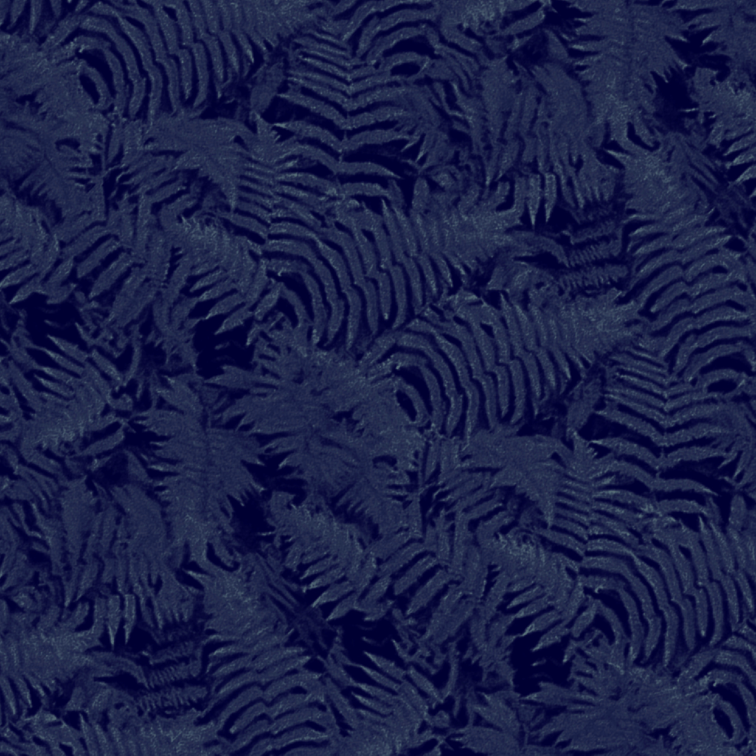 Muted '90S Fern Background Grid At Dusk – Deep Blue Leggings throughout Deep Blue Fern Credenzas (Image 22 of 30)
