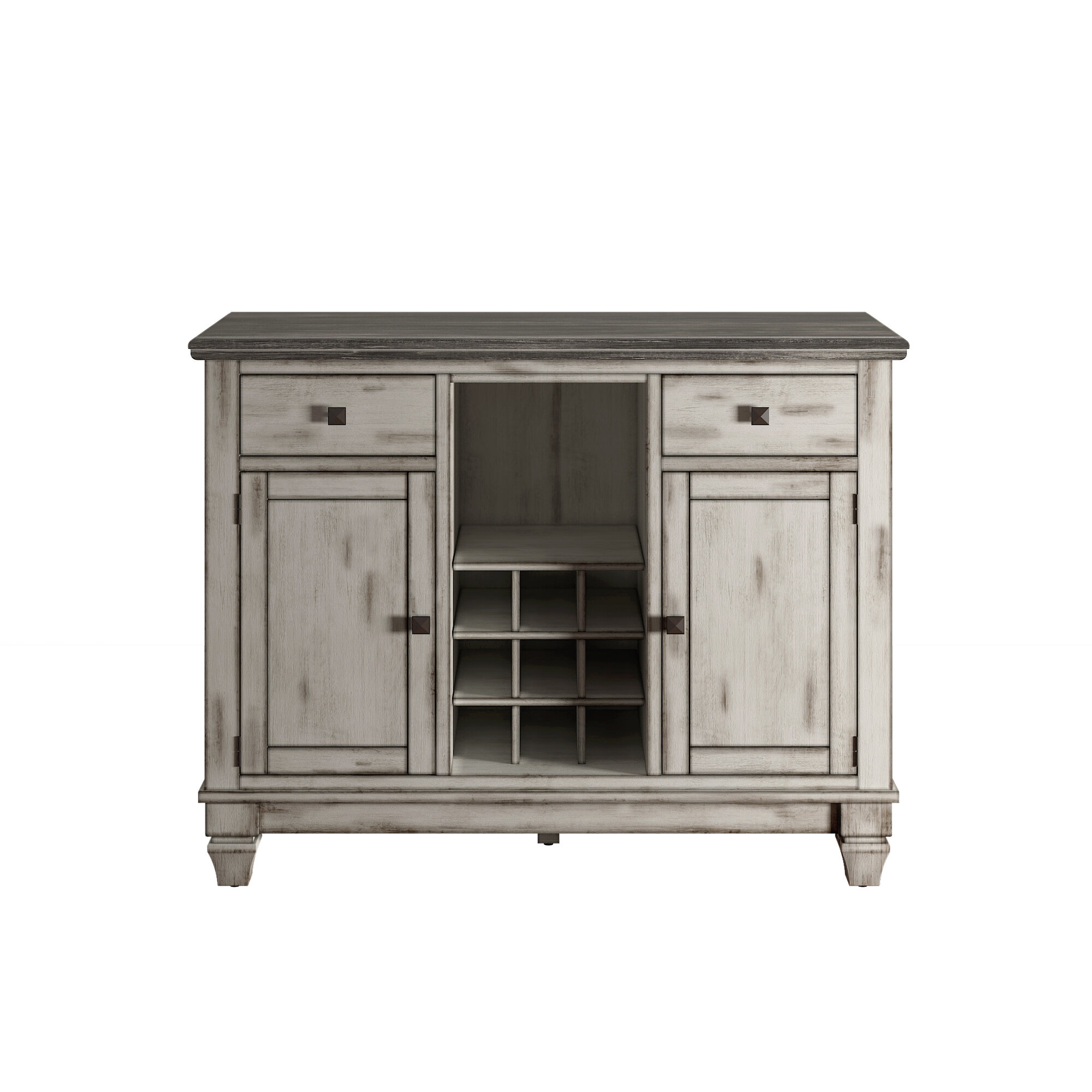 Nathalie Buffet Table Within Fugate 2 Door Credenzas (View 12 of 30)