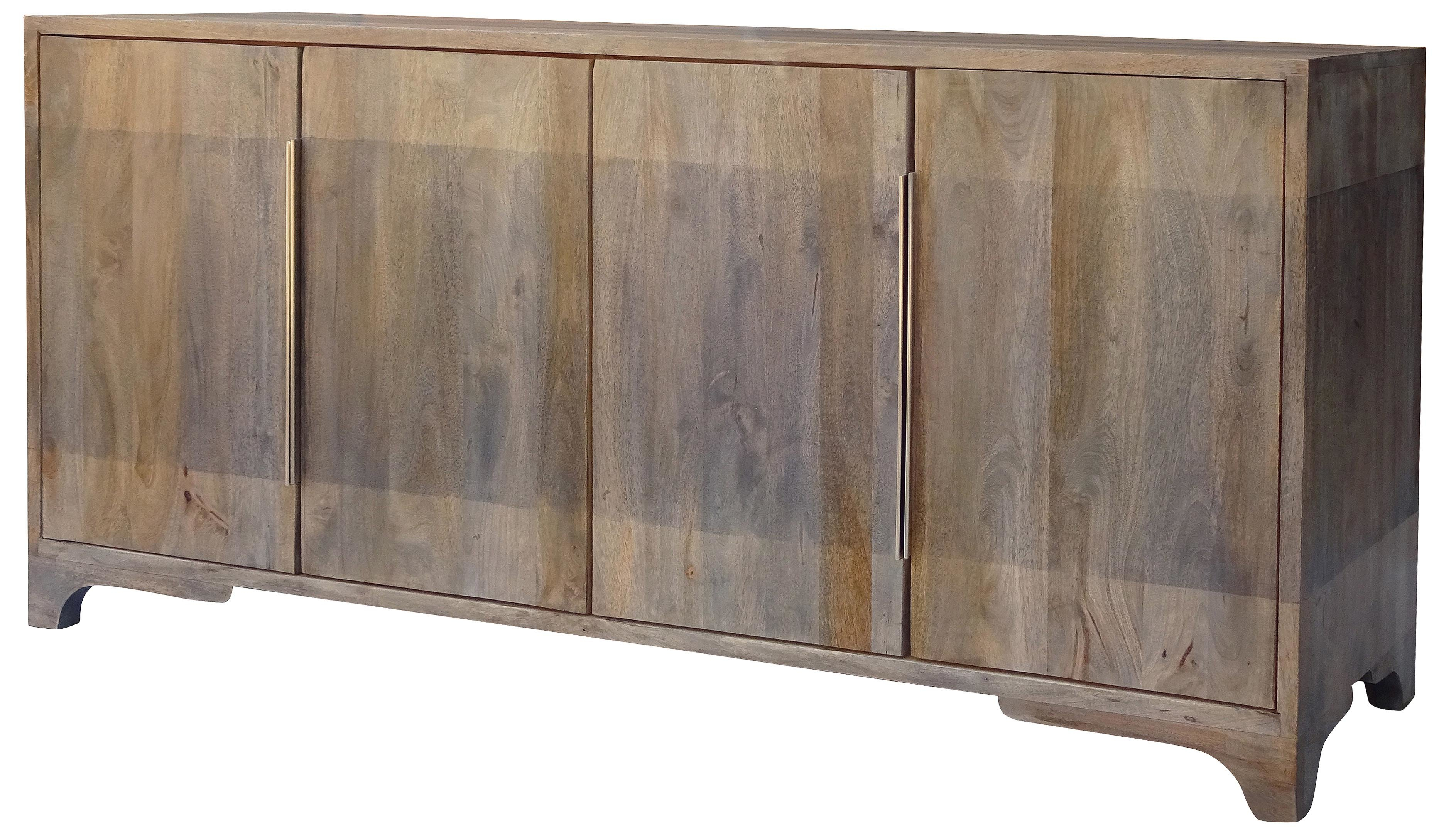Nia Sideboard Within Steinhatchee Reclaimed Pine 4 Door Sideboards (View 23 of 30)
