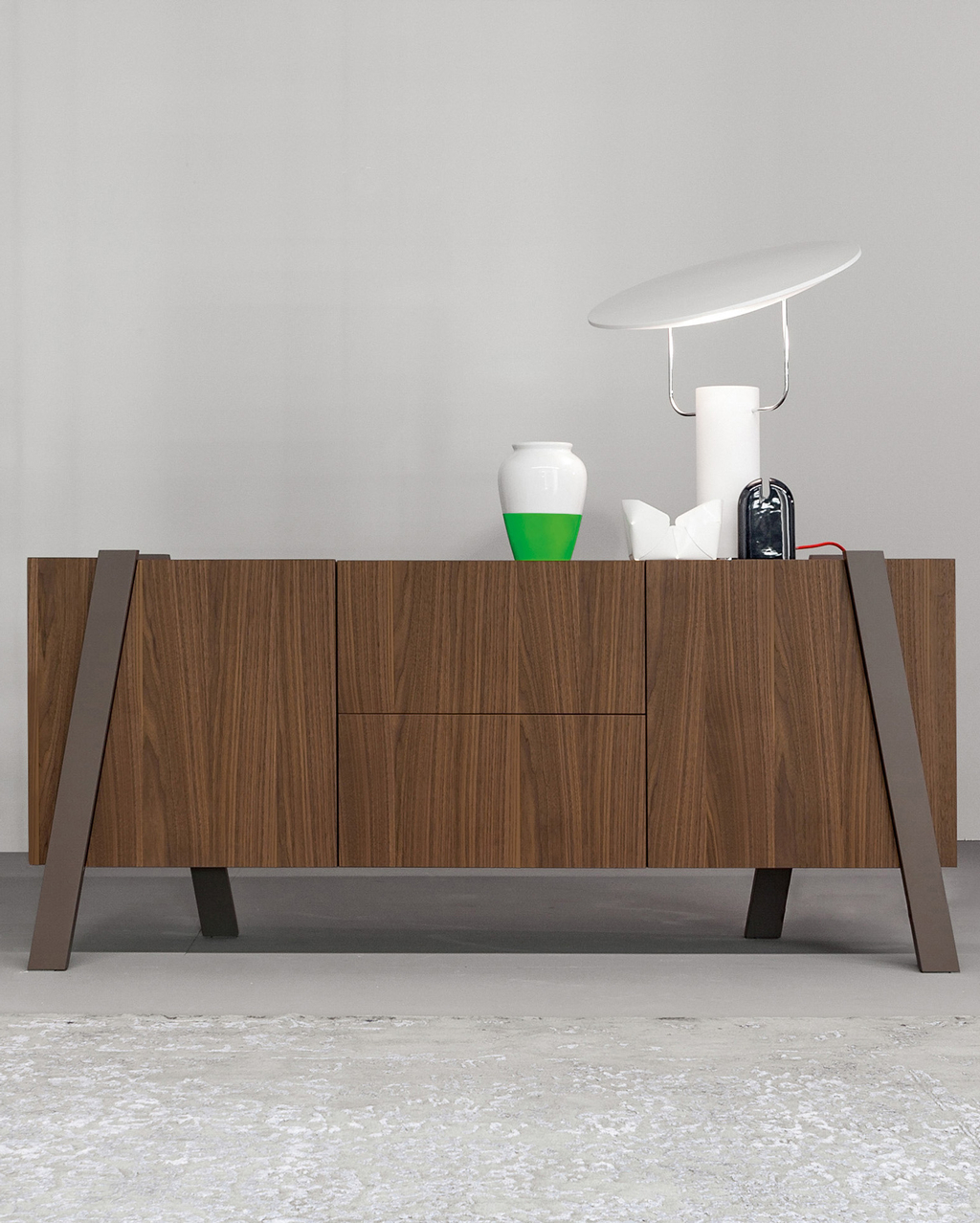 Note Sideboard - Design Depot Furniture - Miami Showroom intended for Multi Colored Geometric Shapes Credenzas (Image 26 of 30)