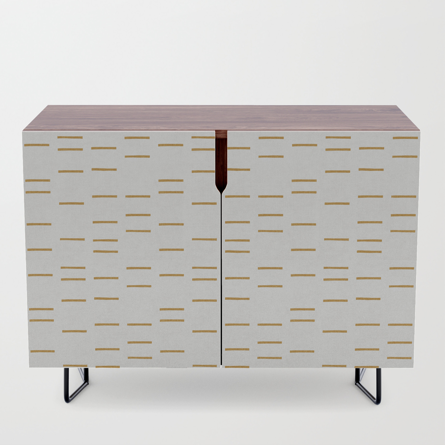 Ochre Line Credenza With Line Geo Credenzas (View 24 of 30)