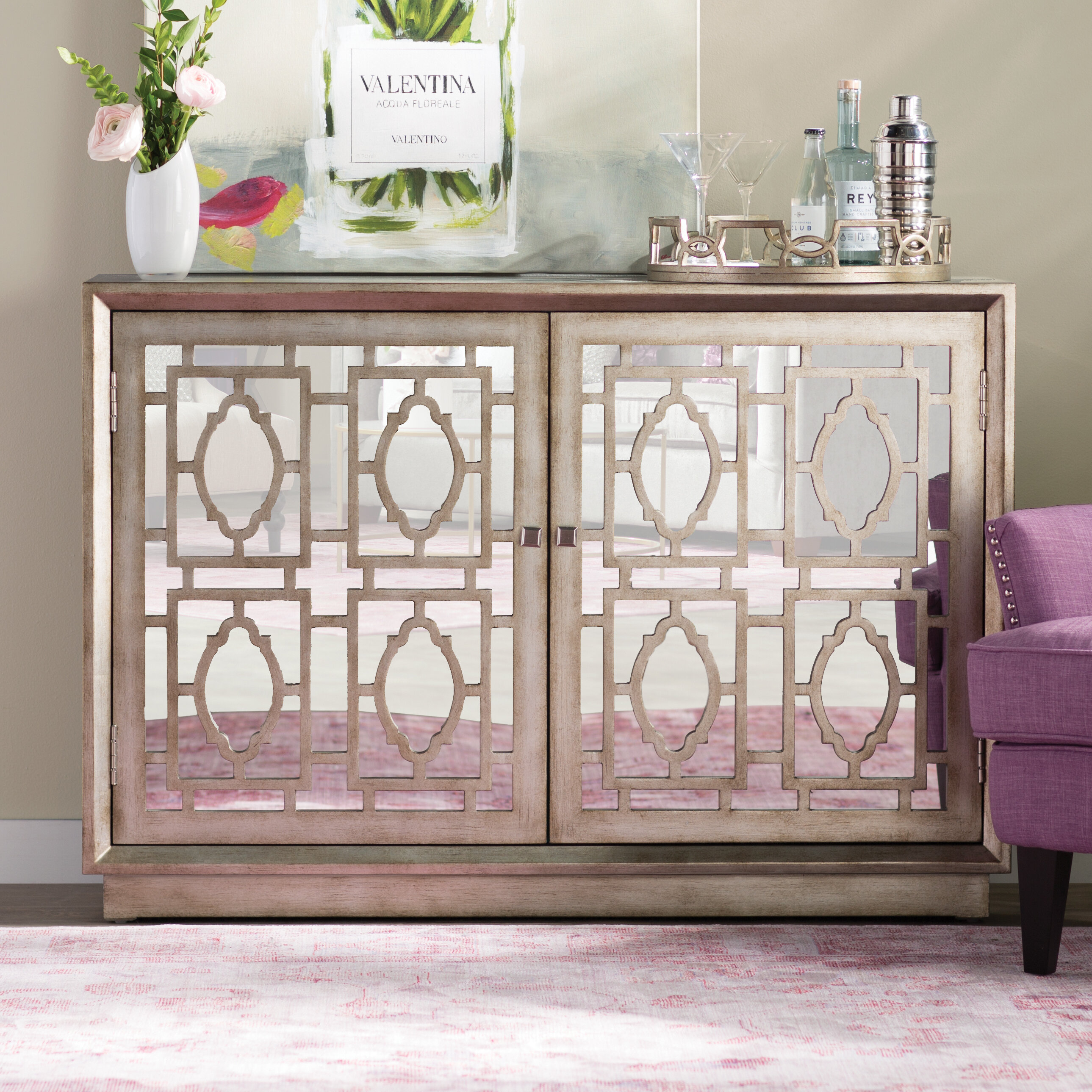 One Allium Way Tavant Sideboard & Reviews | Wayfair Intended For Tavant Sideboards (View 9 of 30)