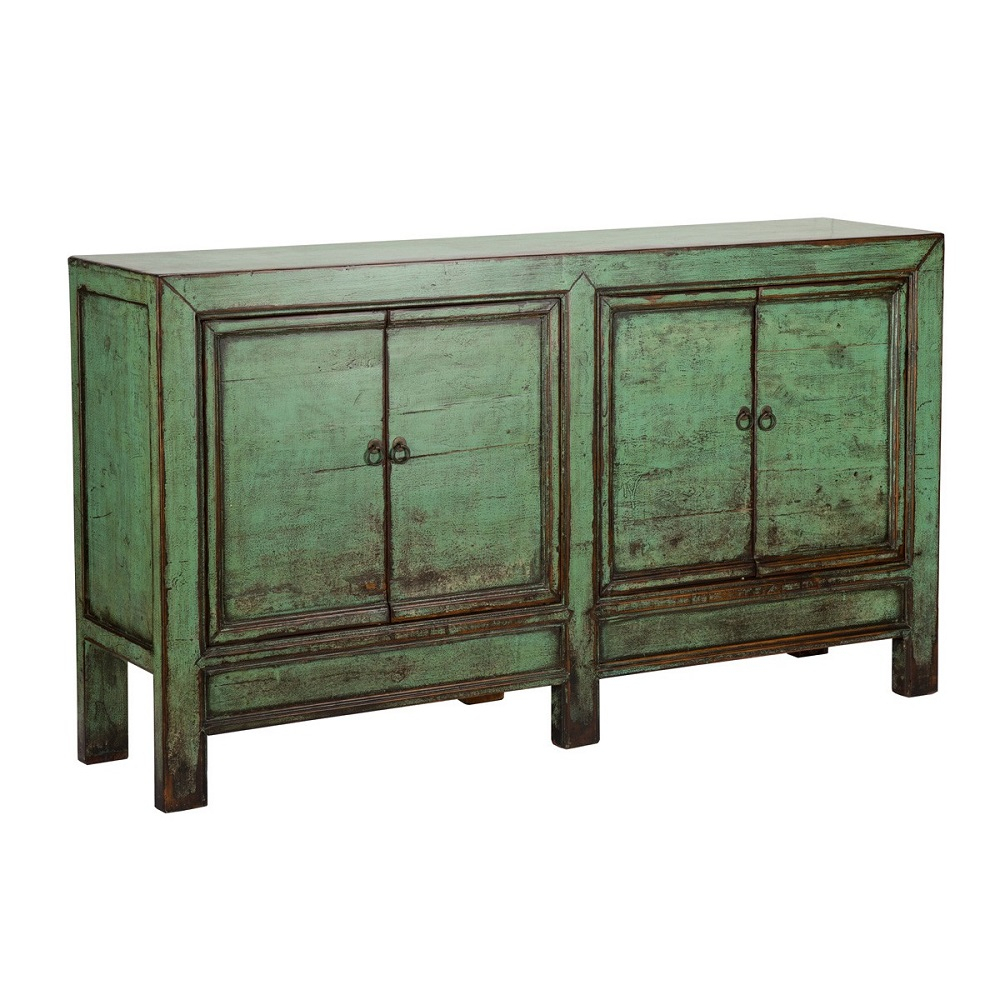 Ortega Painted Sideboard – Antique Green Within Solana Sideboards (View 19 of 30)