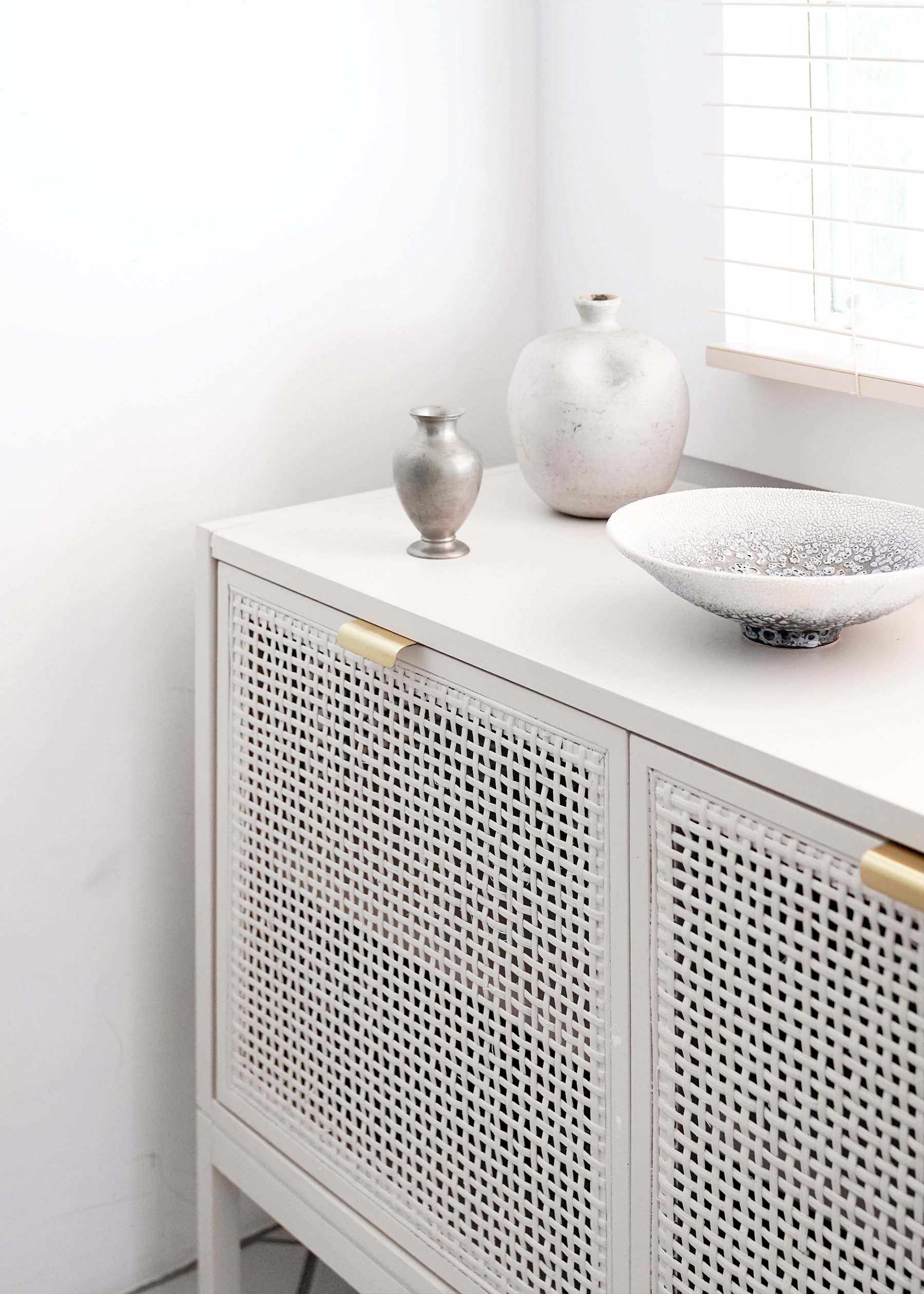 Our Diy Rattan Cabinet Kitchen Storage How To!   Anne Sage In Strokes And Waves Credenzas (View 24 of 30)