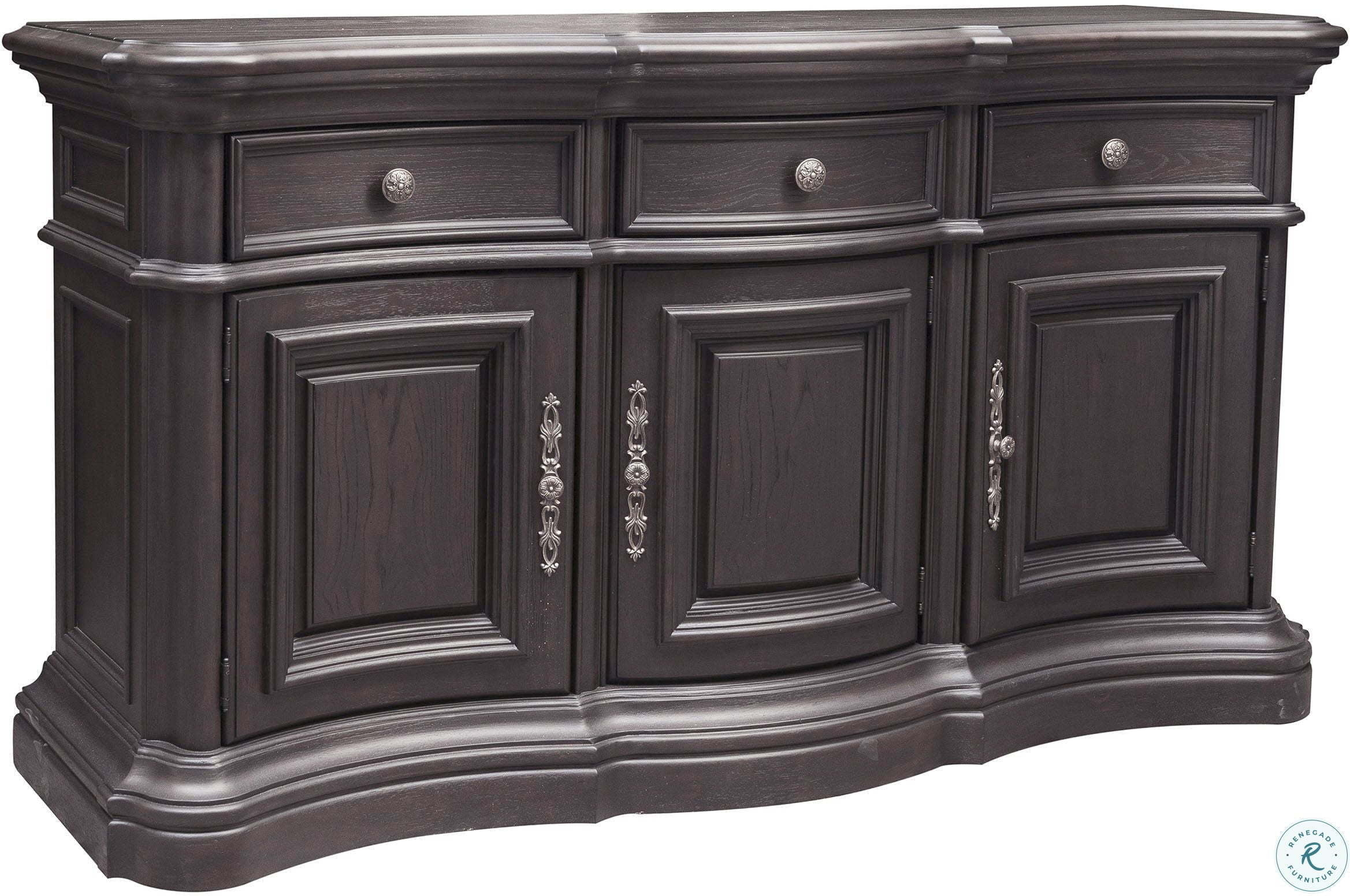 Palisade Distressed Dark Brown Sideboard From Pulaski inside Palisade Sideboards (Image 20 of 30)