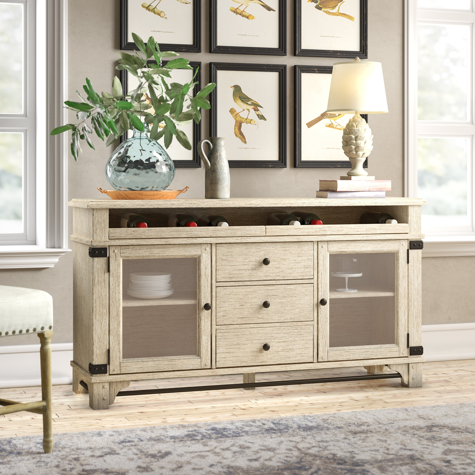 Piedmont Charlisa Sideboard Pertaining To Cazenovia Charnley Sideboards (View 19 of 30)