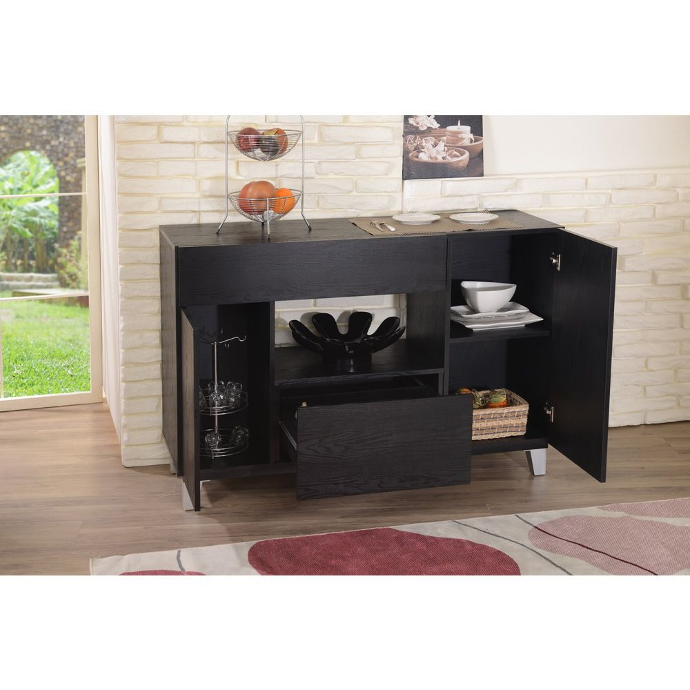 Pin On Dining Room Furniture With Carrera Contemporary Black Dining Buffets (View 29 of 30)