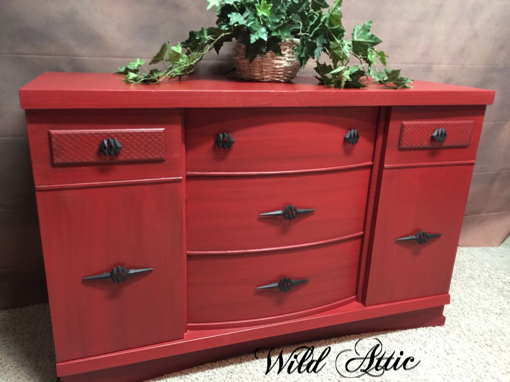 Pin On Dining Room Hutches & Buffets Pertaining To Modern Red Buffets (View 8 of 30)