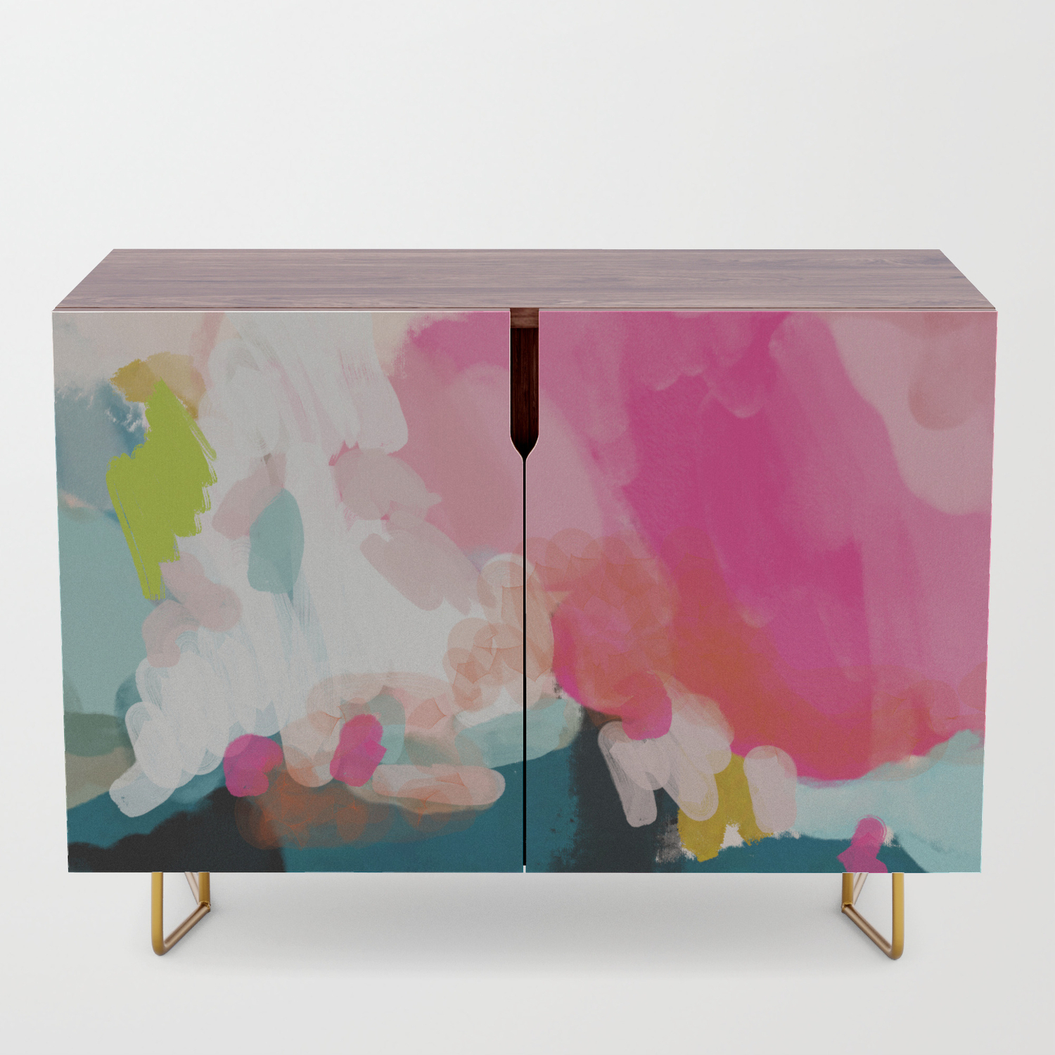 Pink Sky Credenza Intended For Turquoise Skies Credenzas (View 10 of 30)