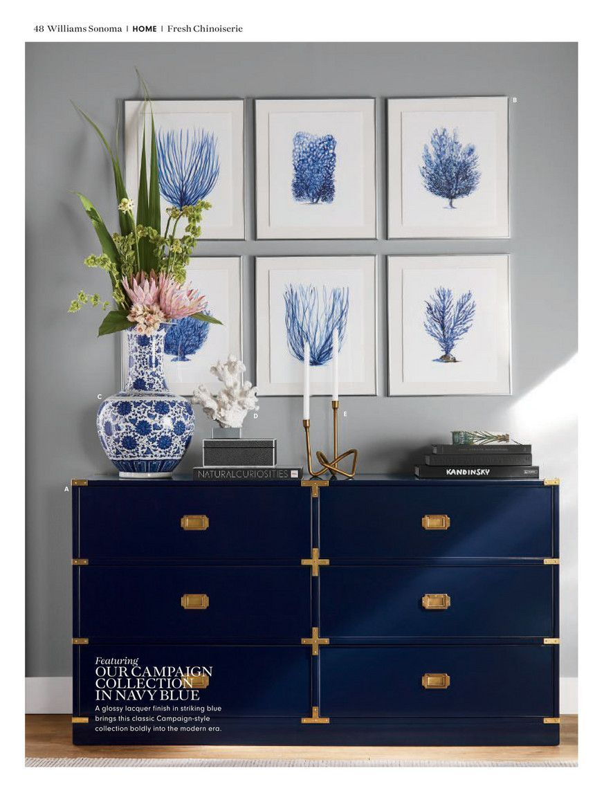 Pinlygia Puhler On Perth House | Coral Bedroom, Home in Deep Blue Fern Credenzas (Image 26 of 30)
