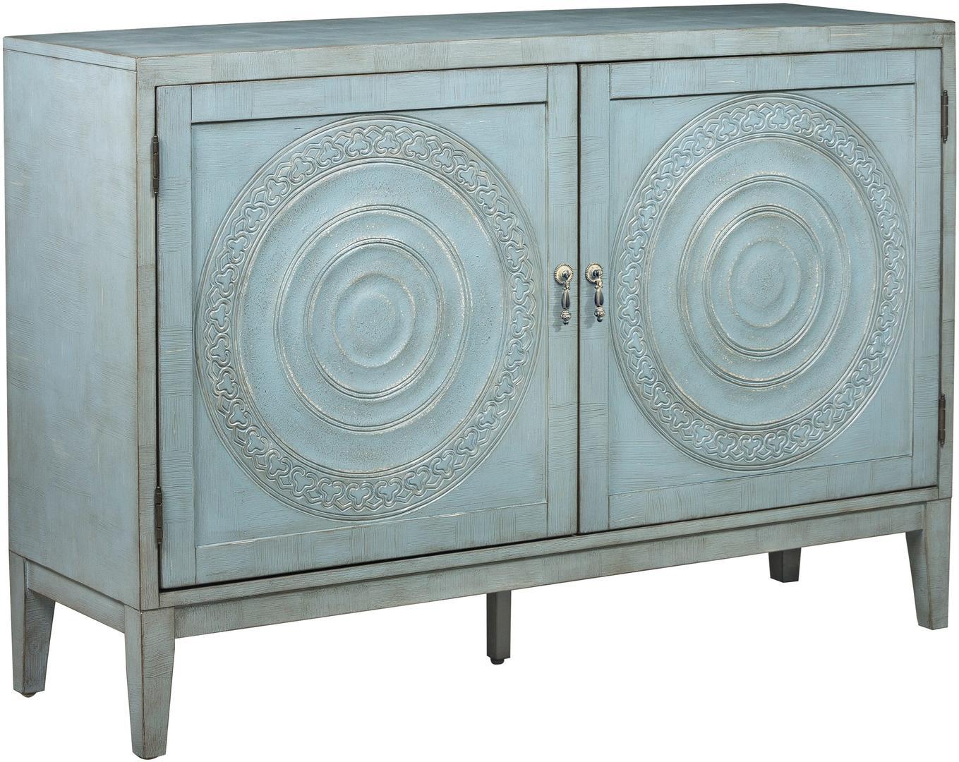 Pulaski Devonne Console & Cabinet Item# 7203 Inside Chicoree Charlena Sideboards (View 20 of 30)
