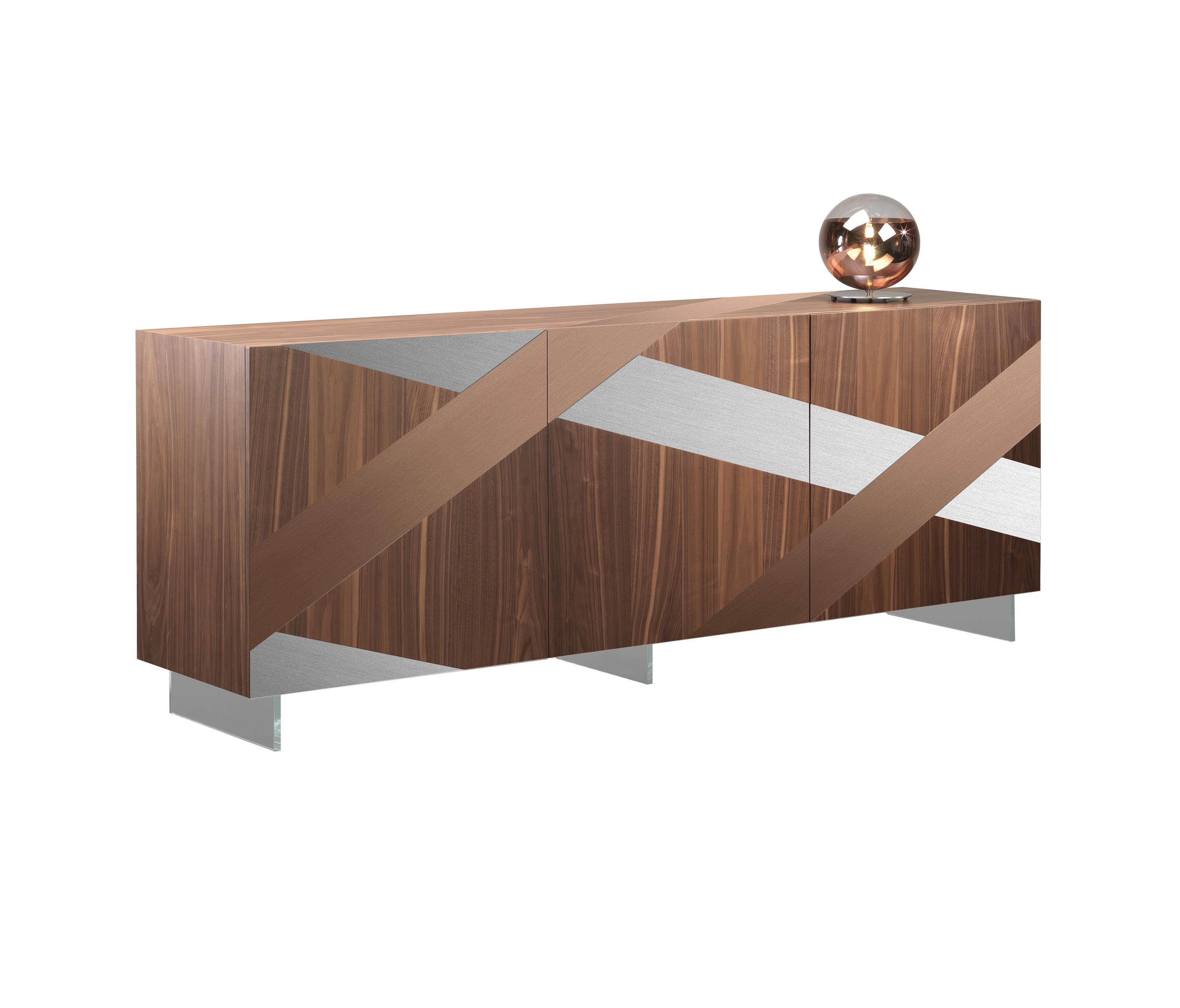 Ramo Buffet – Sideboards / Kommoden Von Reflex | Architonic Throughout Copper Leaf Wood Credenzas (Gallery 10 of 30)