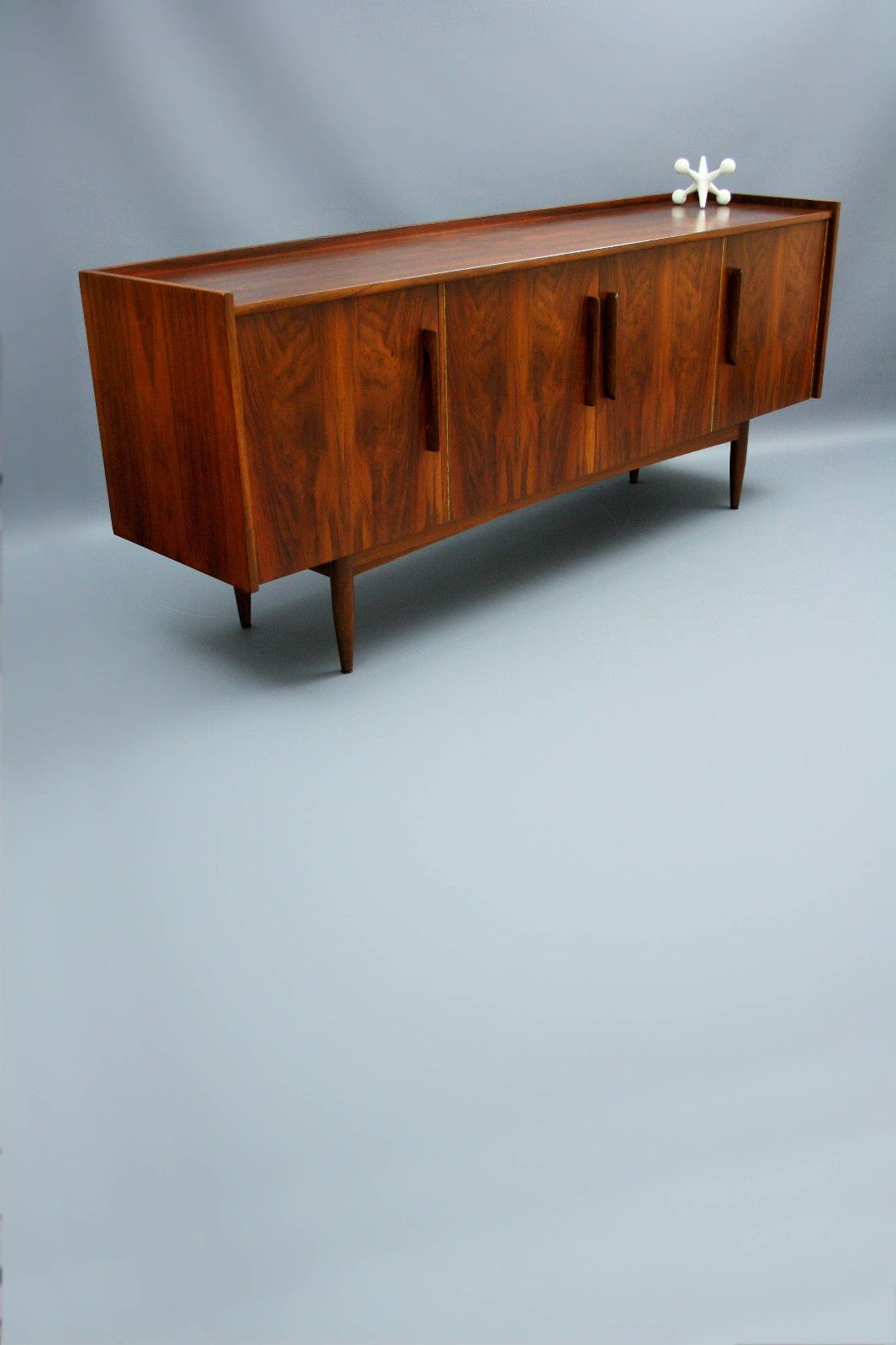 Rare Moderntone Mid Century Lowline Sideboard Buffet Retro For Modern Mid Century Buffets (View 14 of 30)