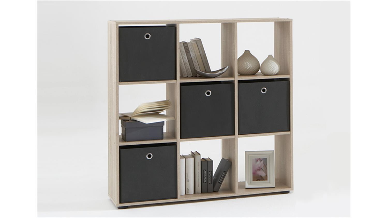 Raumteiler Mega 5 Bücherregal Regal In Eiche Sonoma Sägerau Regarding Weinberger Sideboards (Gallery 24 of 30)