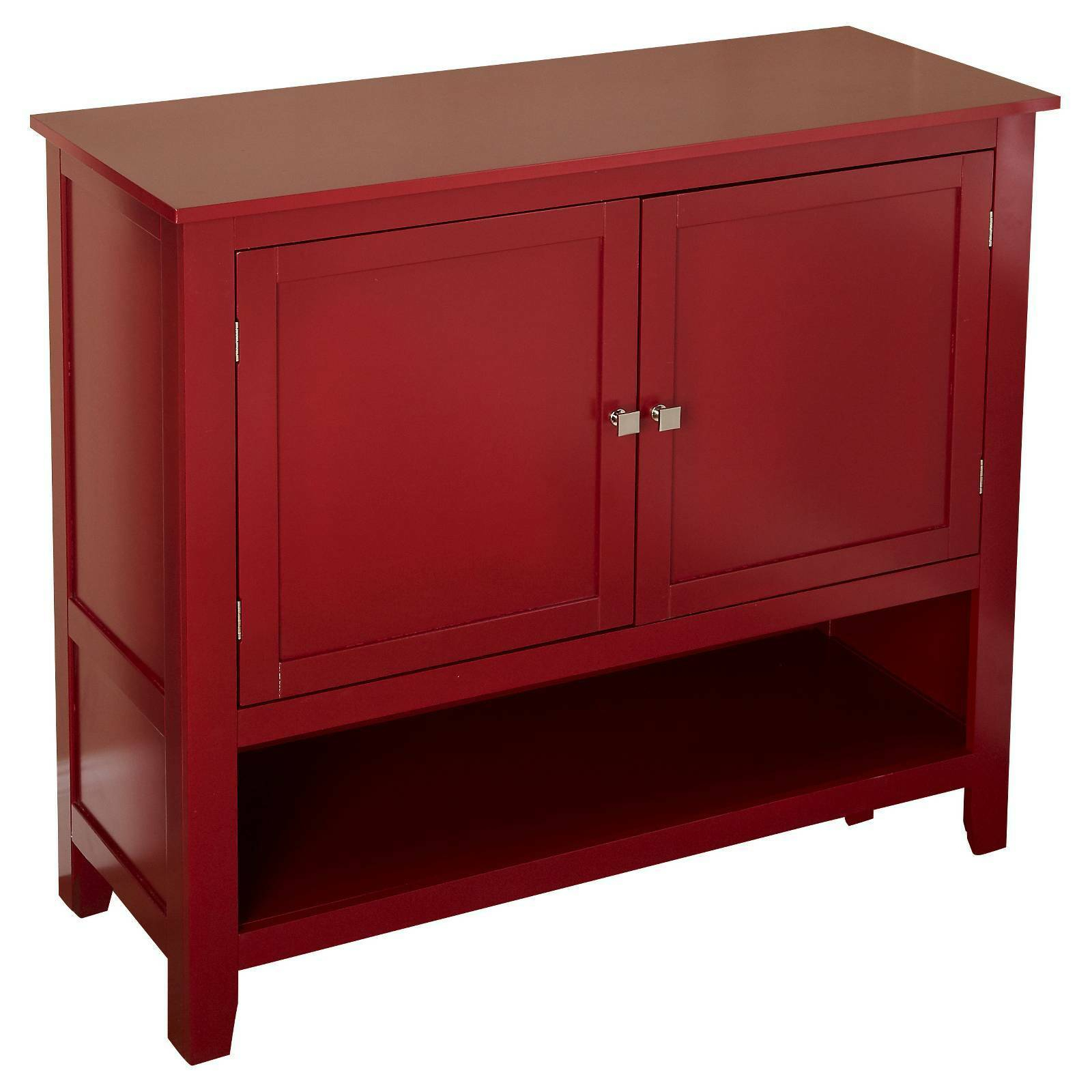 Red Montego Buffet Storage Cabinet Furniture Sideboard Vintage Server  Dining Set With Regard To Simple Living Red Montego Buffets (Gallery 10 of 30)
