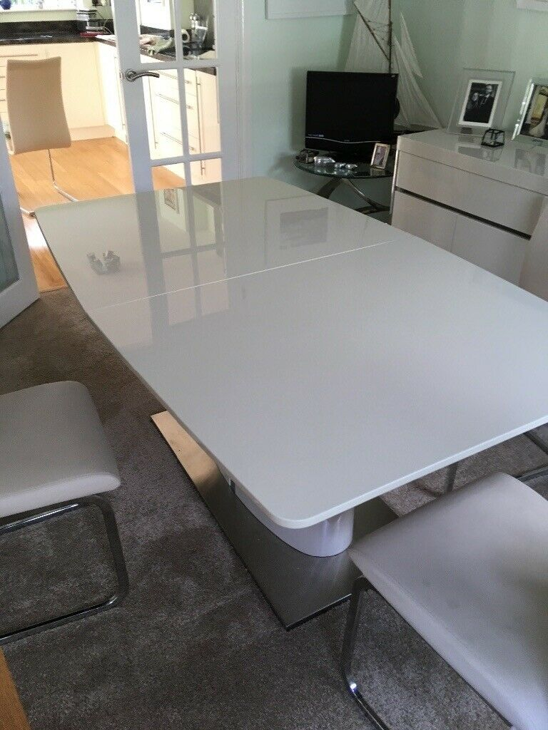 Reduced! Matching Modern Dining Table, Chairs And Sideboard | In Gosport,  Hampshire | Gumtree With Gosport Sideboards (Gallery 25 of 30)