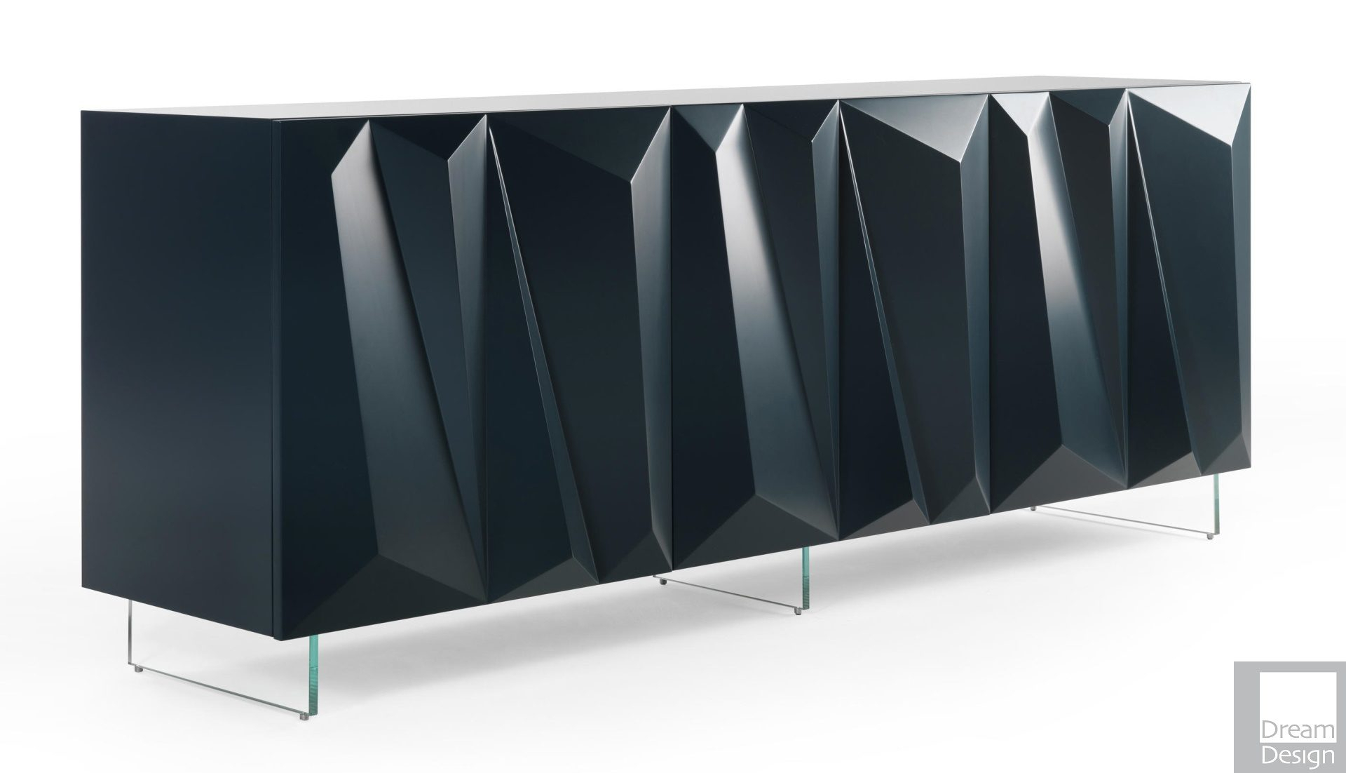 Reflex Angelo Quartz Buffet – Dream Design Interiors Ltd In 3 Drawer Titanium Buffets (Gallery 27 of 30)