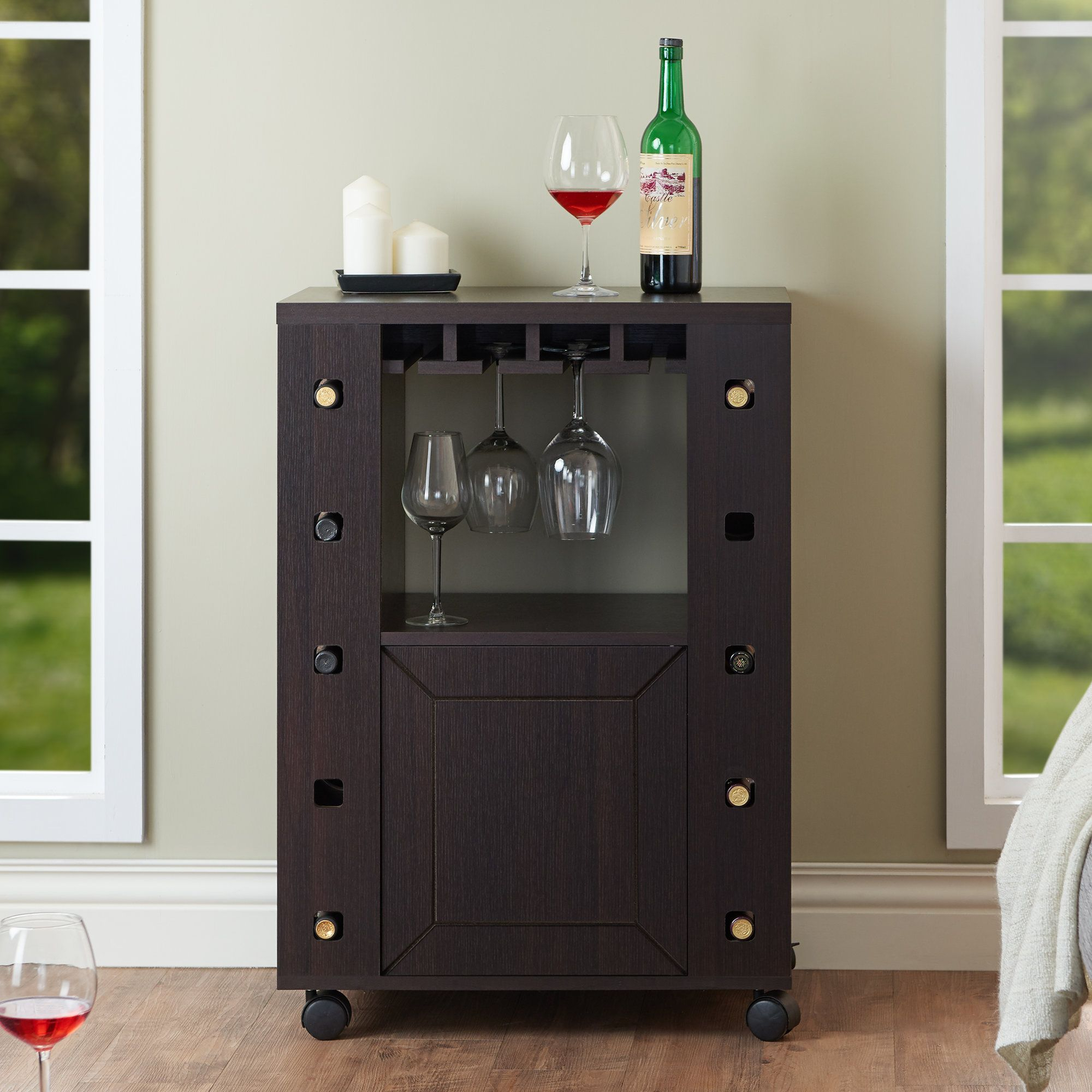 Remi Bar Cabinet | Products | Wine Cabinets, Wine Glass Inside Buffets With Bottle And Glass Storage (Gallery 10 of 30)