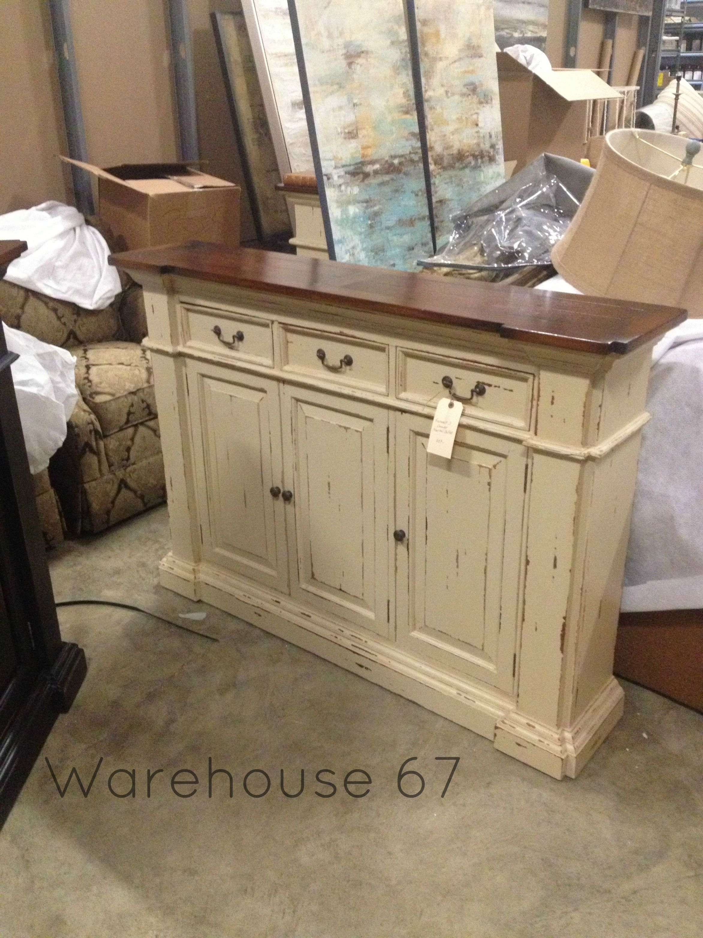 Roosevelt 3 Drawer Narrow Buffet Here At Warehouse 67! Only Regarding Industrial Style 3 Drawer Buffets (View 25 of 30)