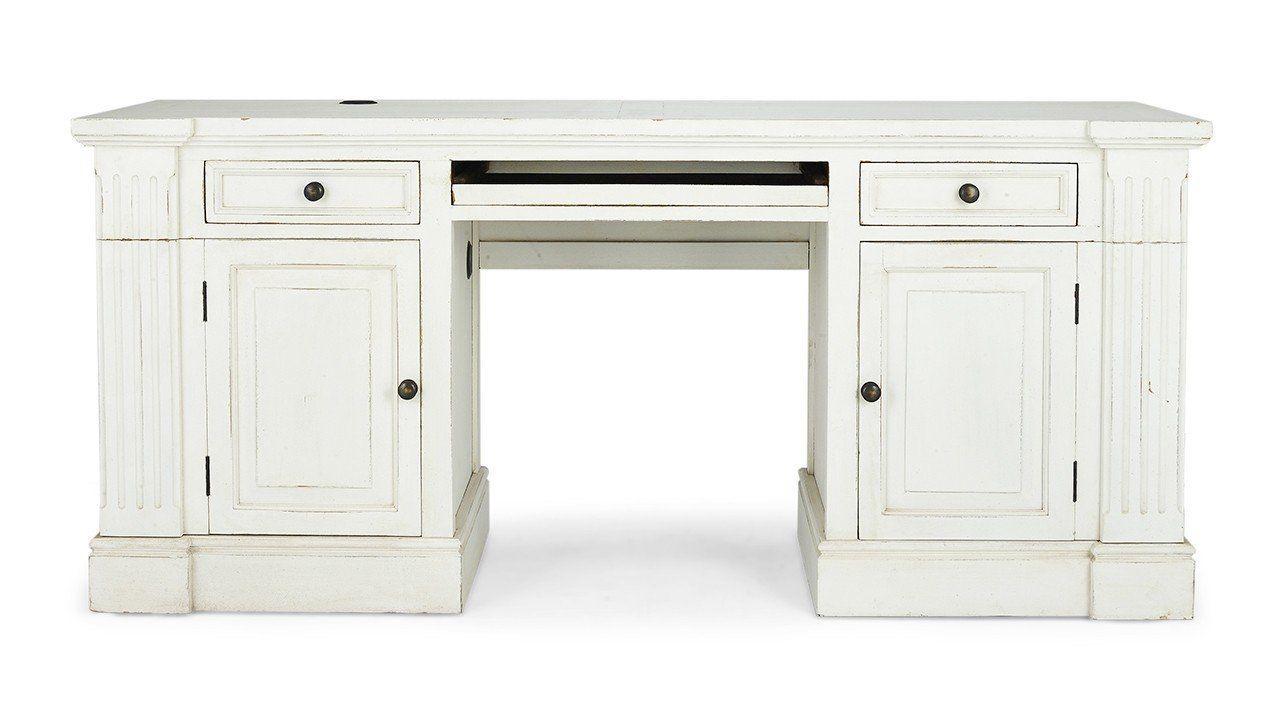 Roosevelt Computer Desk | Vintage Style Home In 2019 | White For Ellenton Sideboards (Gallery 30 of 30)