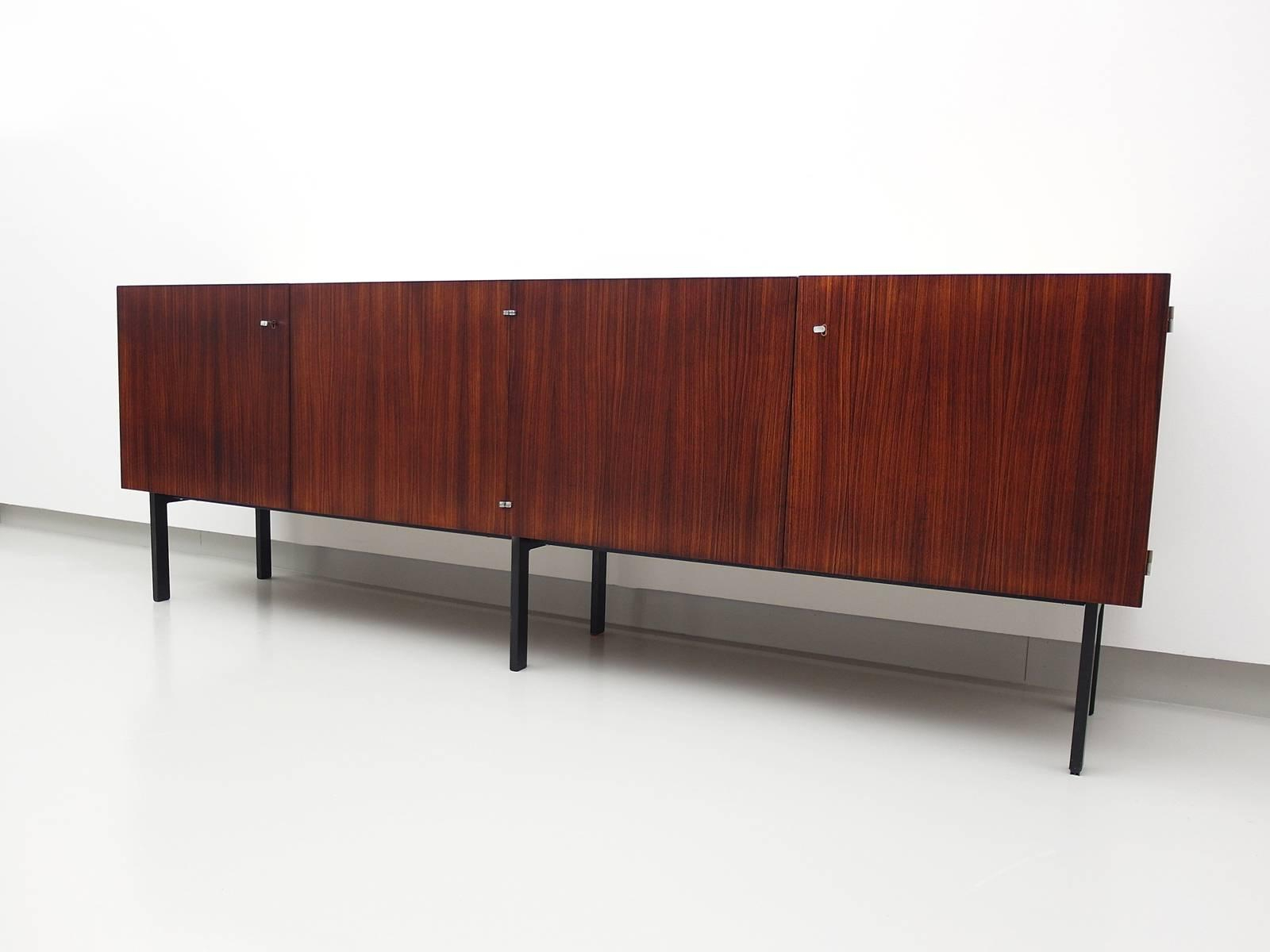 Rosewood Sideboard Attributed To Etienne Fermigier For Meubles Et Fonction,  1961 With Regard To Etienne Sideboards (Gallery 30 of 30)