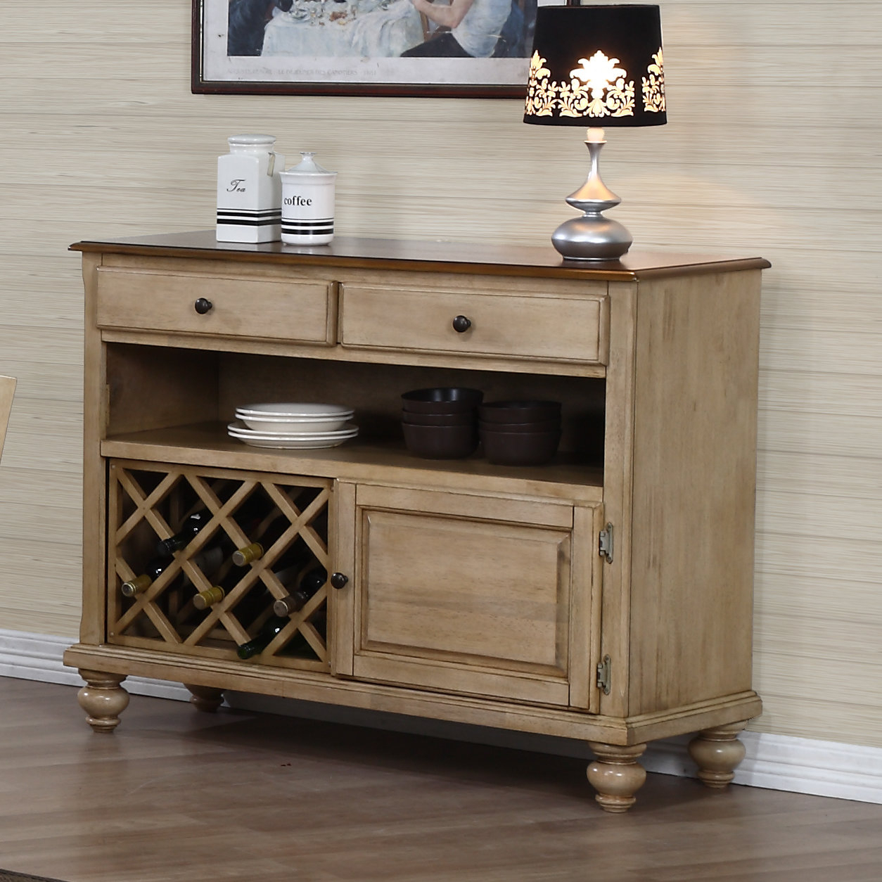 Rustic Yellow Sideboards & Buffets You'll Love In 2019 | Wayfair pertaining to Arminta Wood Sideboards (Image 24 of 30)