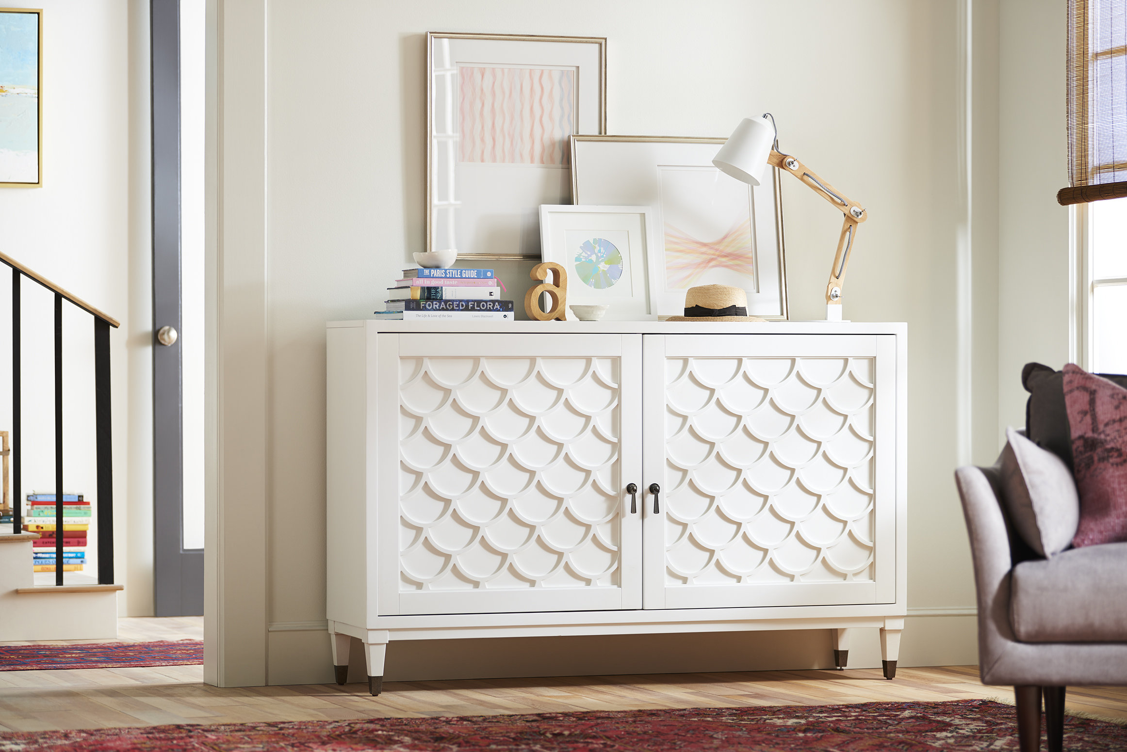 Scalloped Sideboard Pertaining To Tavant Sideboards (View 20 of 30)