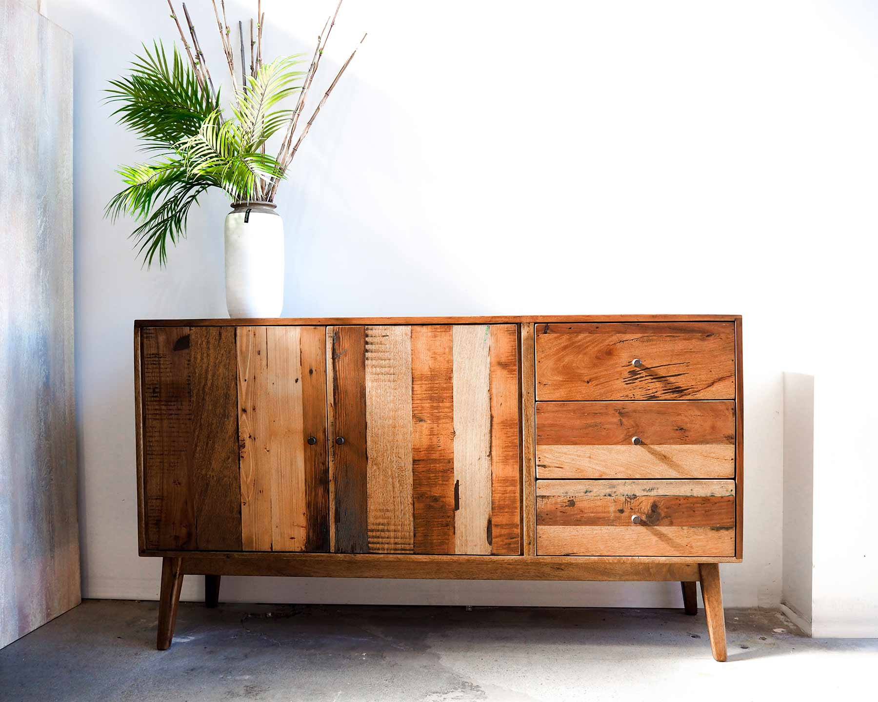 Seville Buffet 2 Door 3 Drawer | Vast pertaining to 3-Drawer Storage Buffets (Image 23 of 30)