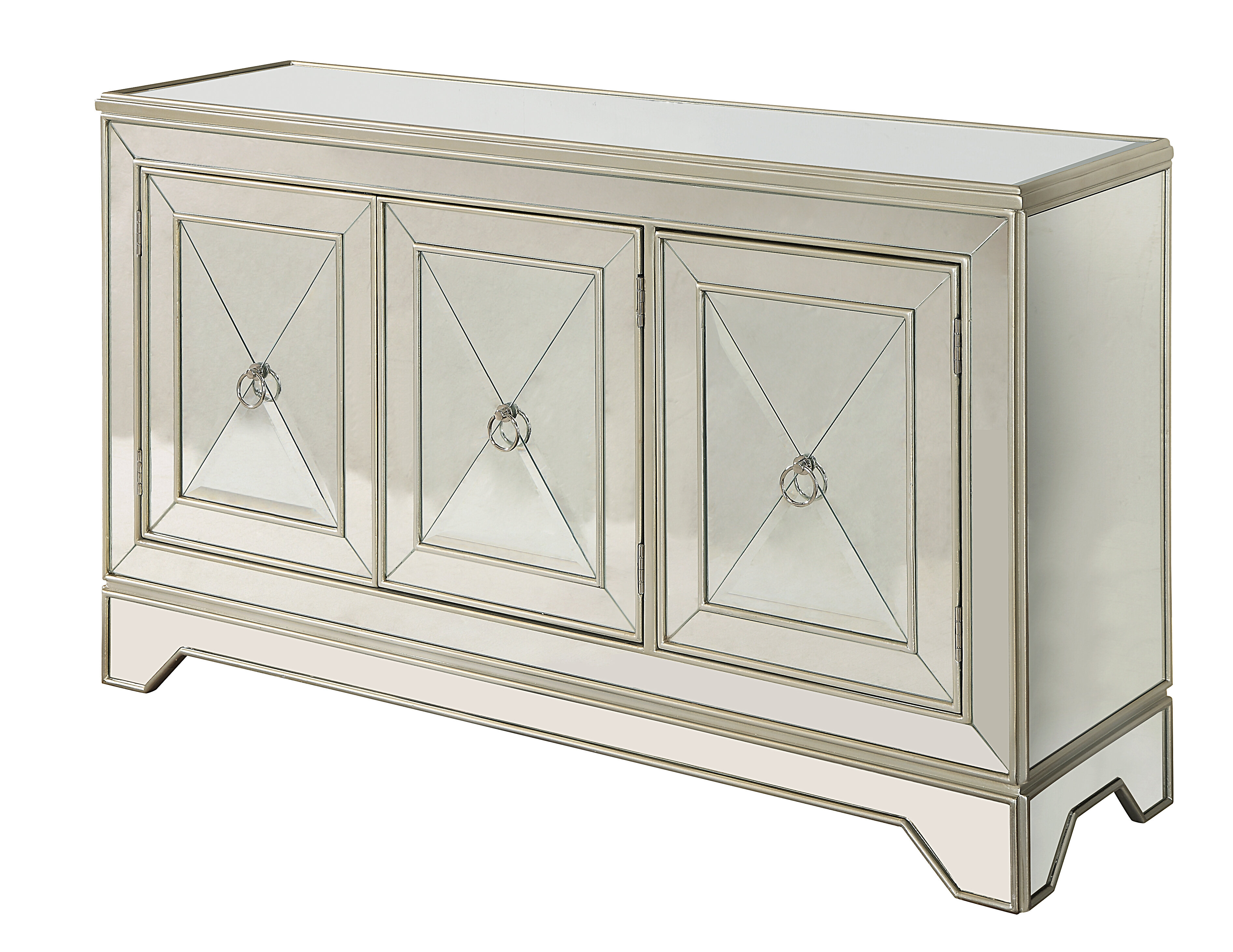 Sideboard / Credenza Mirrored Sideboards | Joss & Main For Lowrey Credenzas (View 21 of 30)