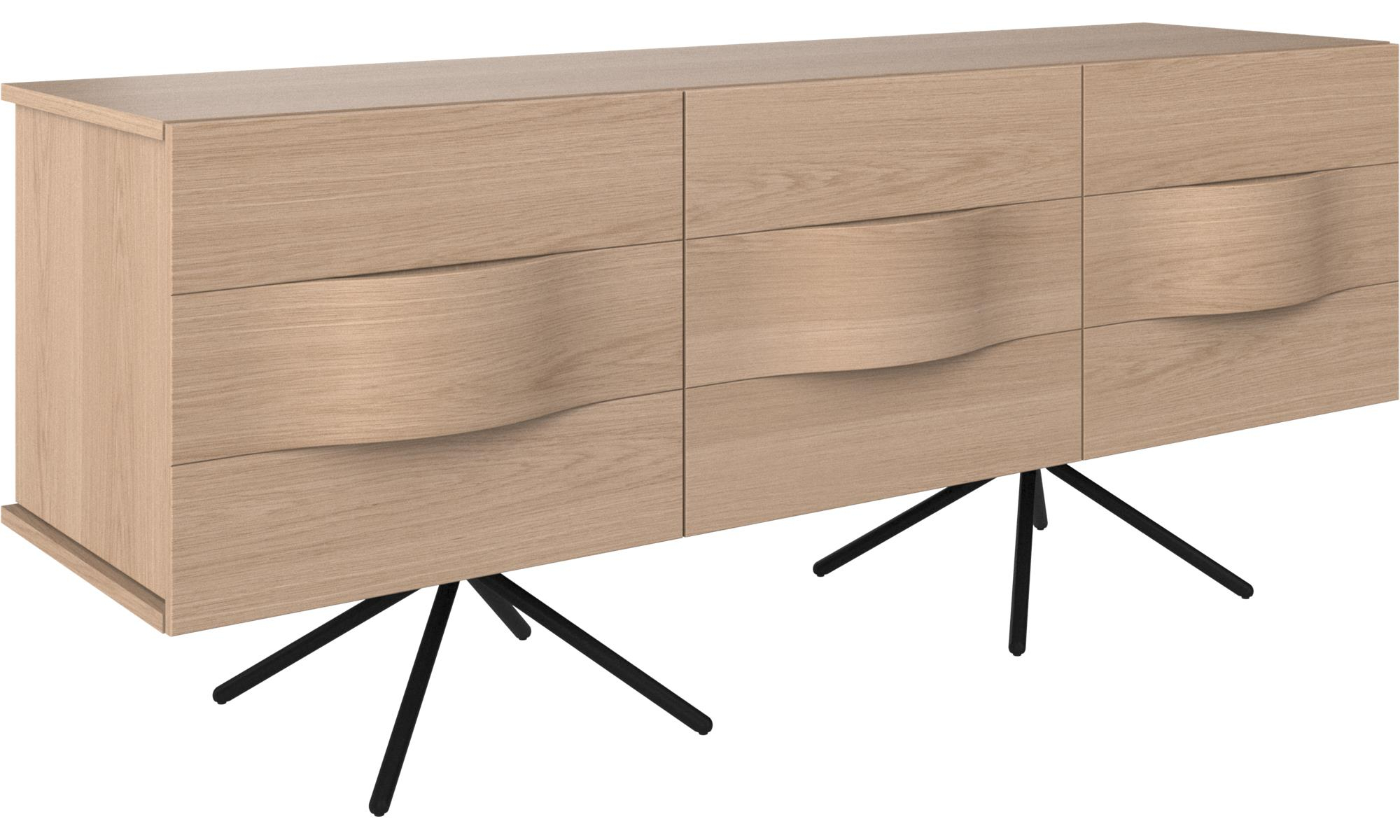 Sideboard. Full Size Of And Black Retro Argos Small Depth with regard to Ilyan Traditional Wood Sideboards (Image 25 of 30)