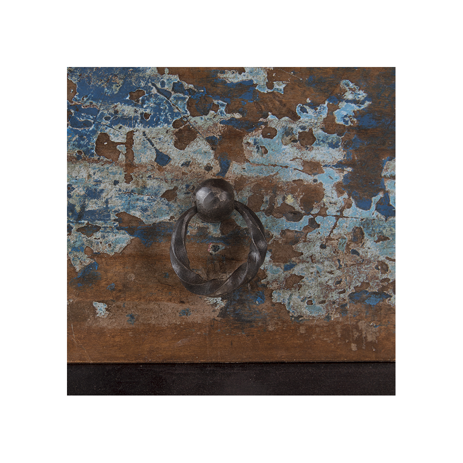 """Sideboard In Recycled Wood """"periya"""" Small throughout Abhinav Credenzas (Image 25 of 30)"""