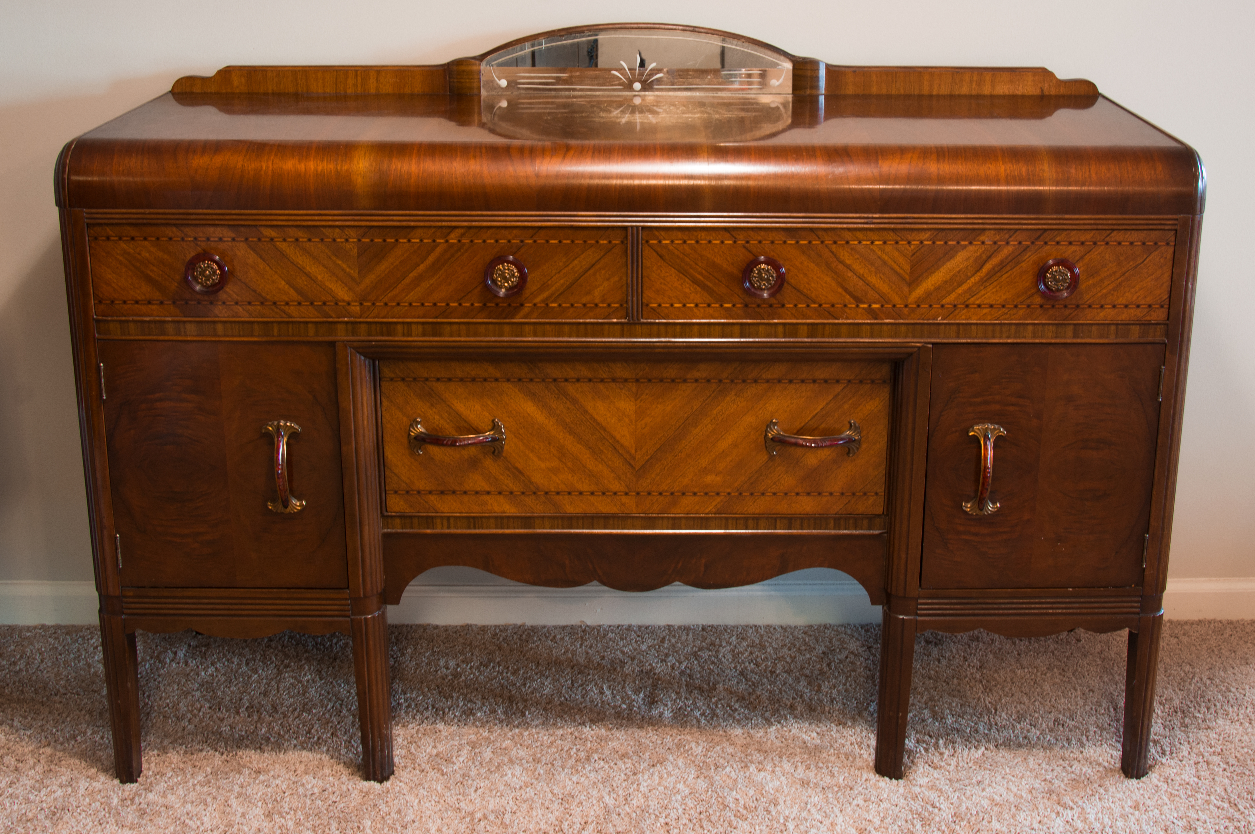 Sideboard - Wikipedia with Rustic Walnut Dining Buffets (Image 27 of 30)