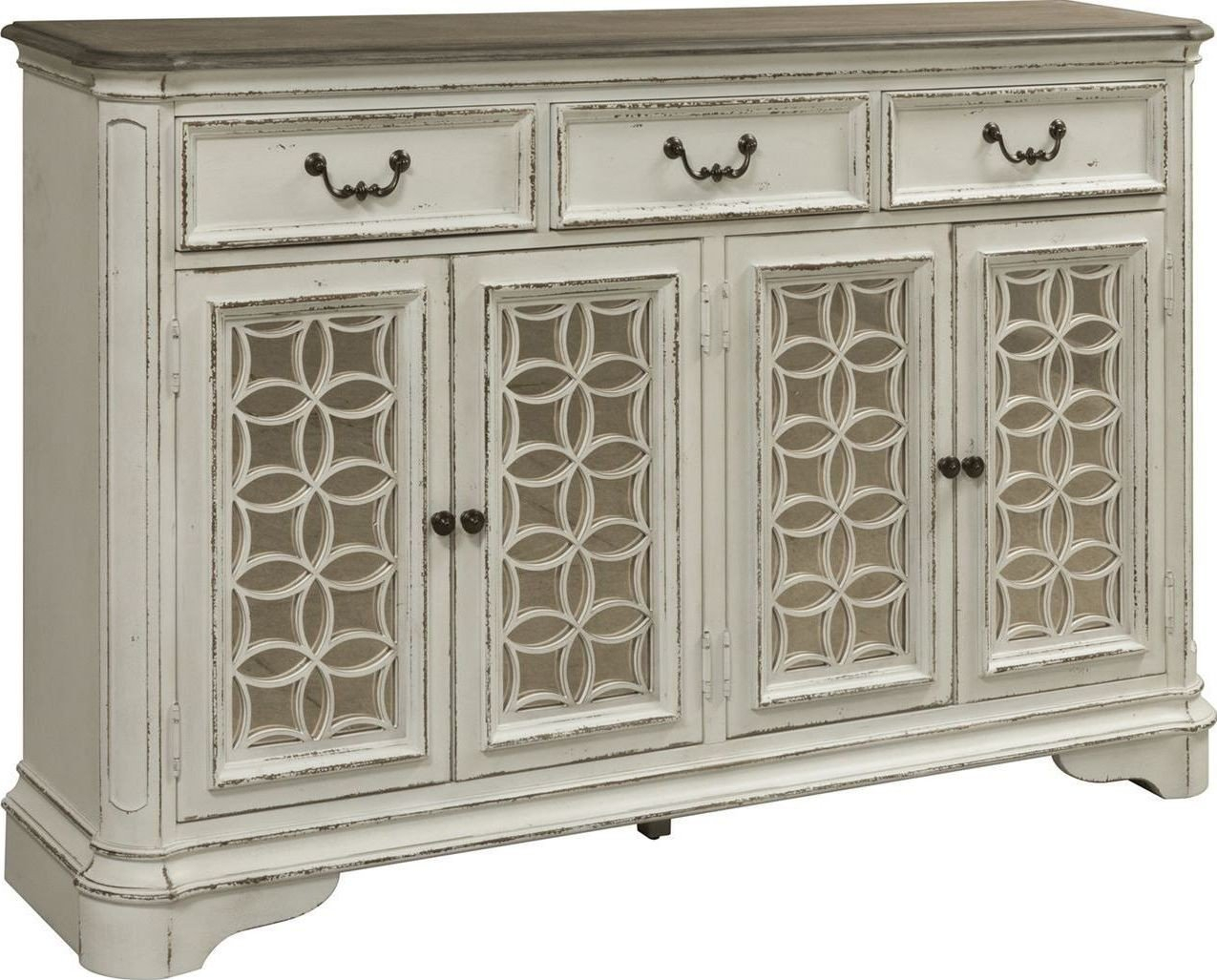 Simple Living Antique White Kendall Buffet Free Shipping For Simple Living Antique White Kendall Buffets (View 12 of 30)