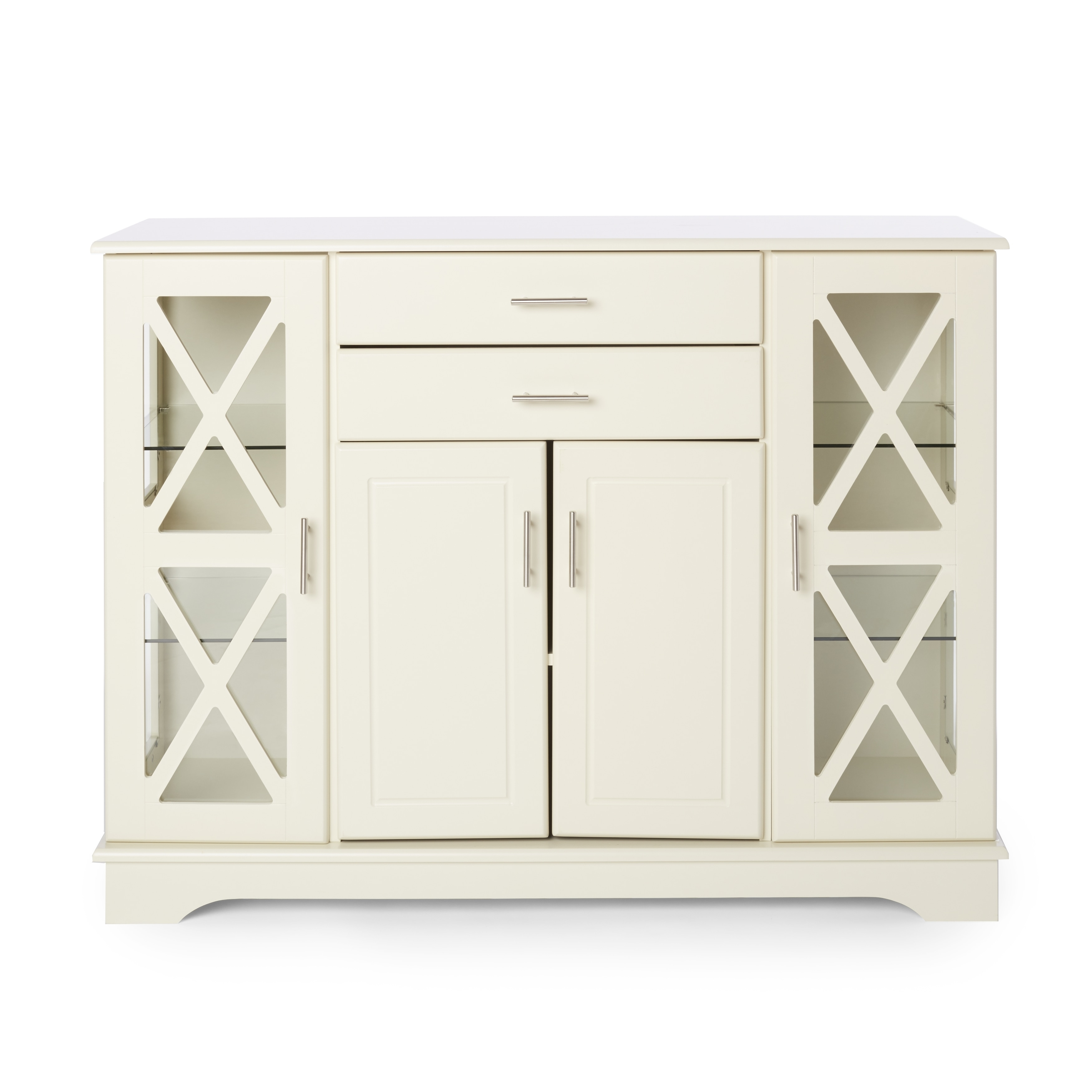 Simple Living Antique White Kendall Buffet Throughout Simple Living Antique White Kendall Buffets (View 2 of 30)