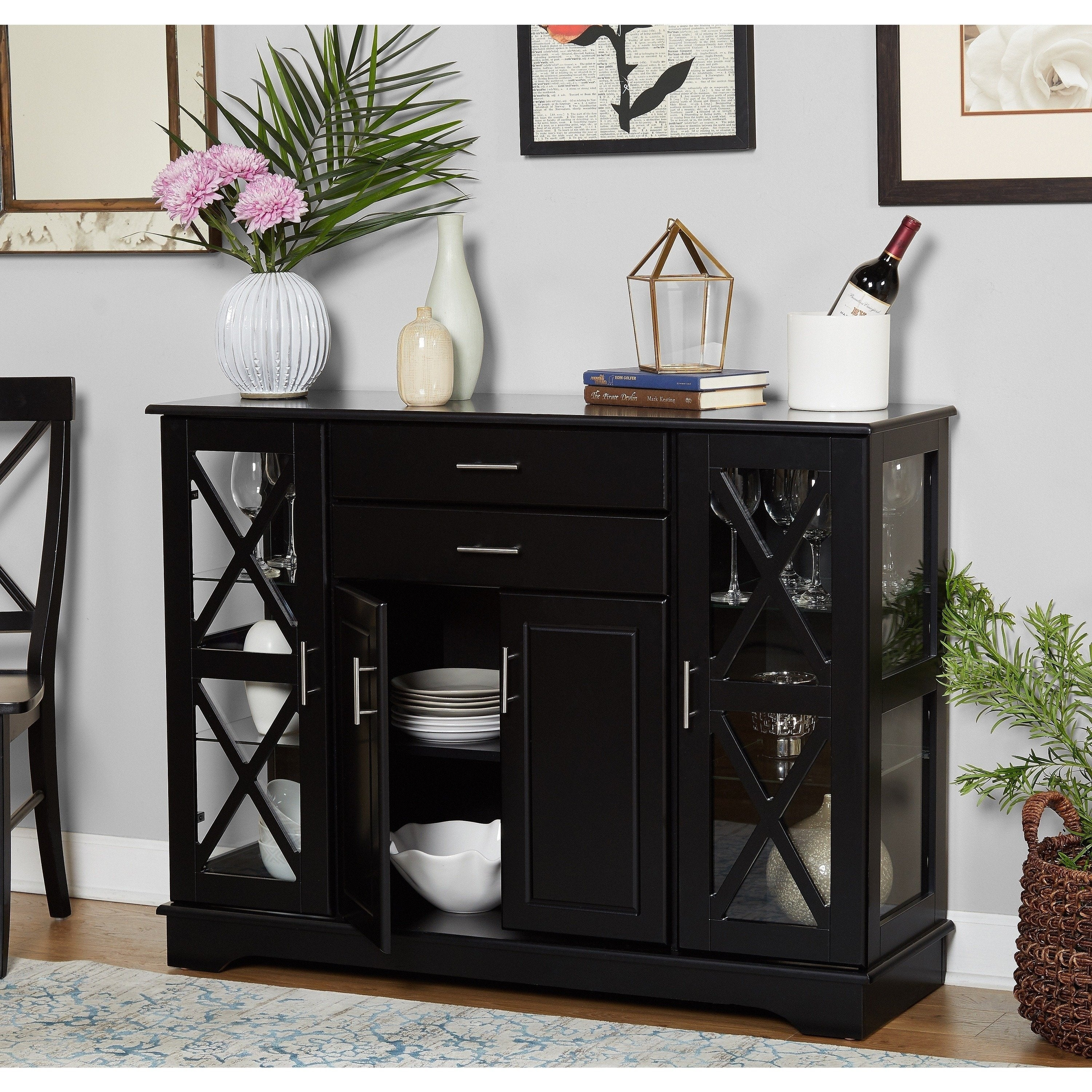 Simple Living Kendall Buffet For Kendall Sideboards (View 10 of 30)