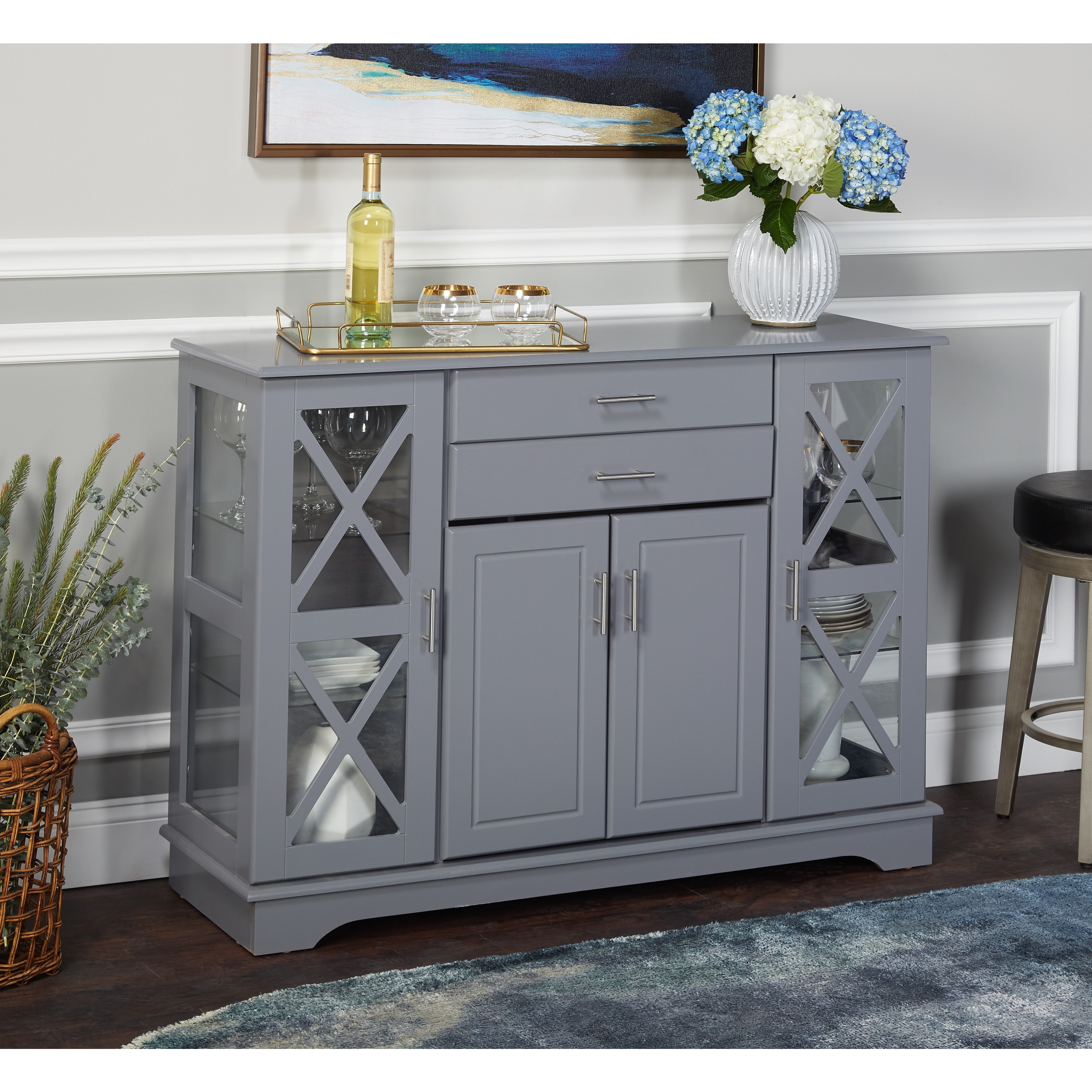 Simple Living Kendall Buffet In 2019 | Home Decor | Buffet With Kendall Sideboards (View 2 of 30)