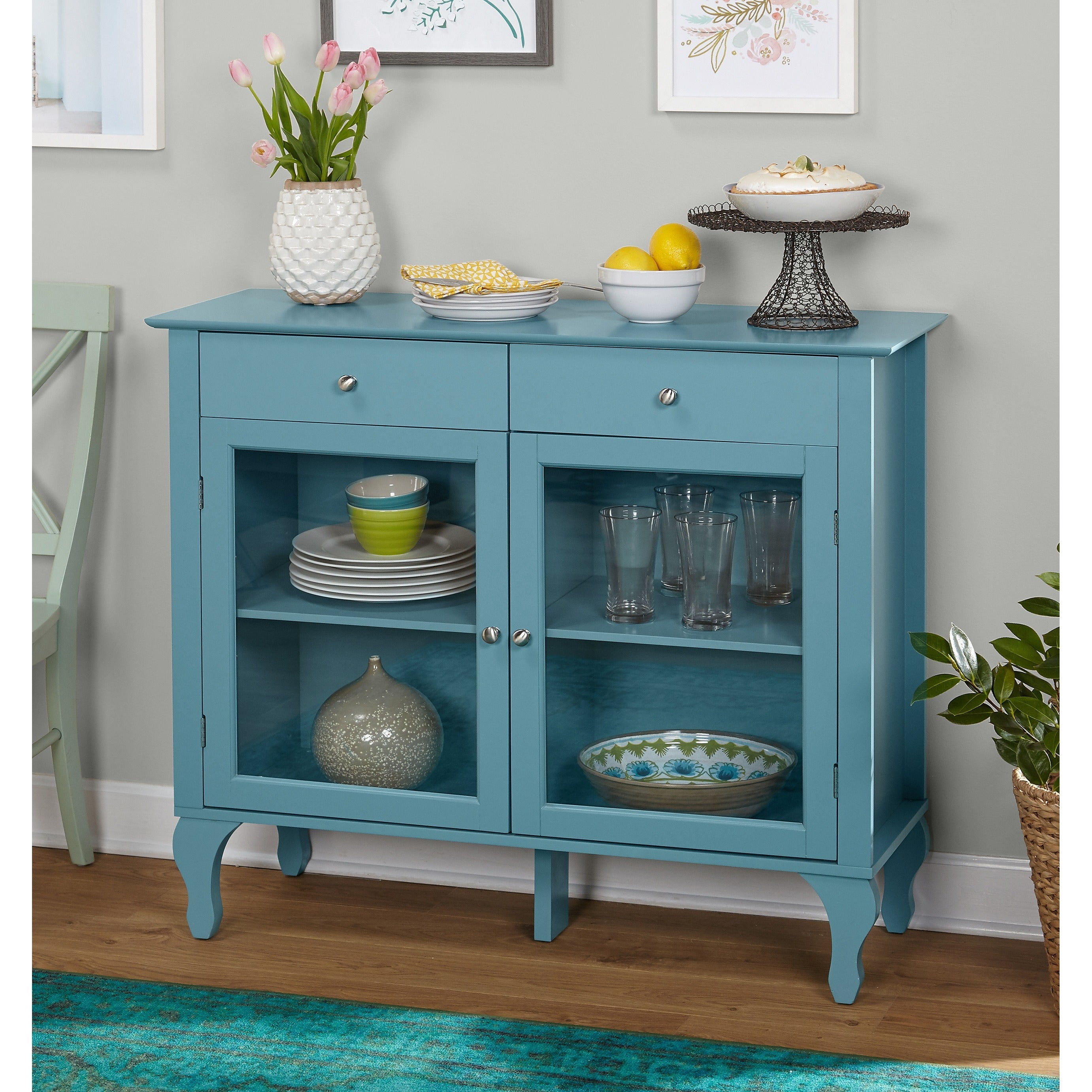 Simple Living Layla Antique Buffet With Simple Living Layla Black Buffets (View 7 of 30)
