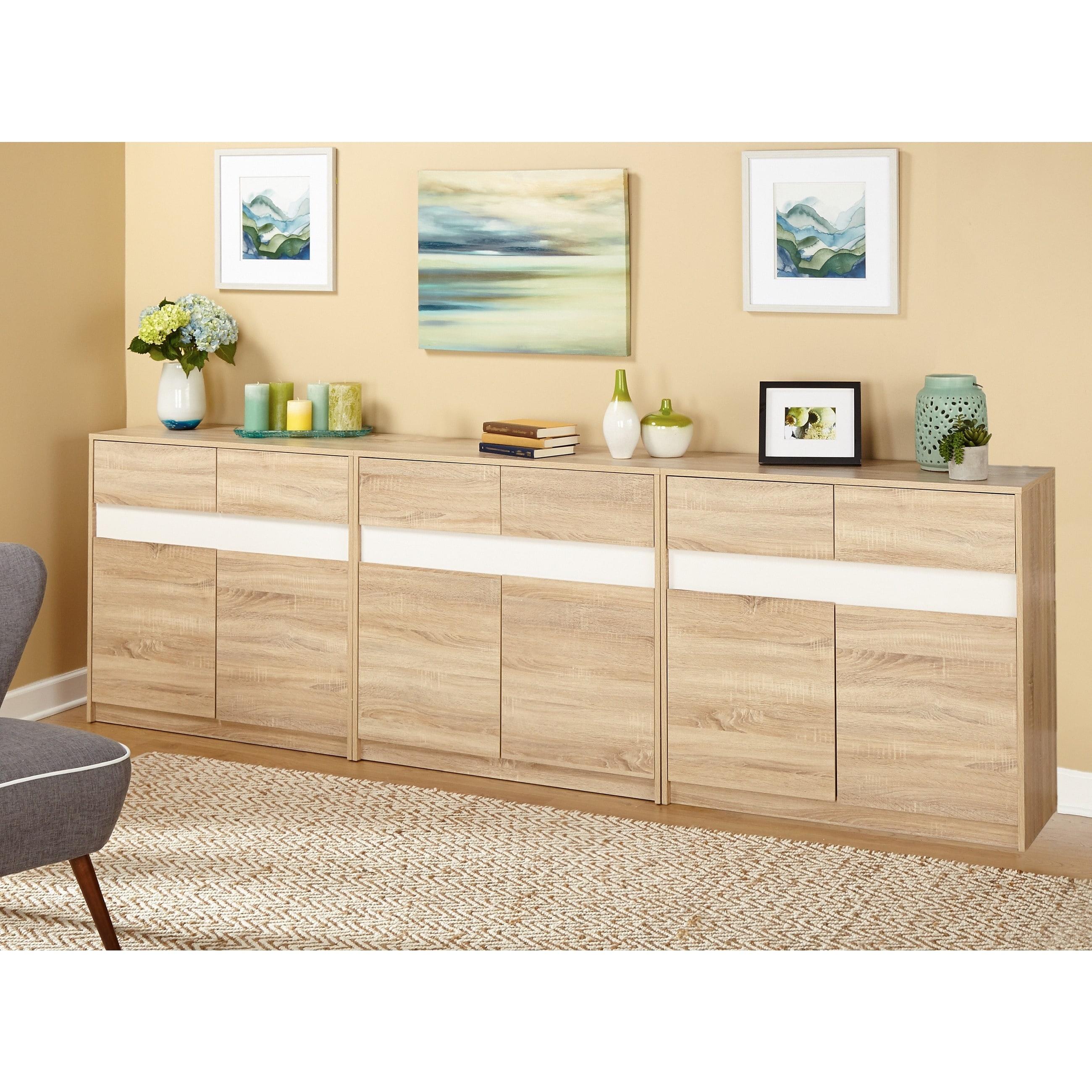 Simple Living Mandy Buffet/ Credenza – Walmart With Simple Living Maui Buffets (View 18 of 30)