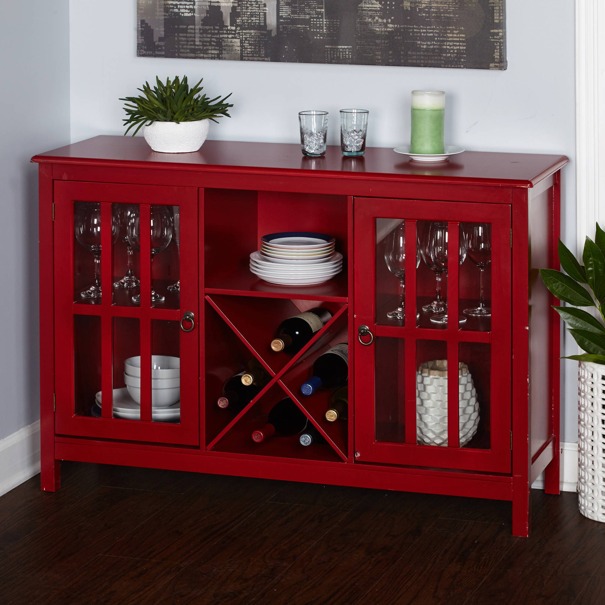 Featured Photo of Modern Red Buffets