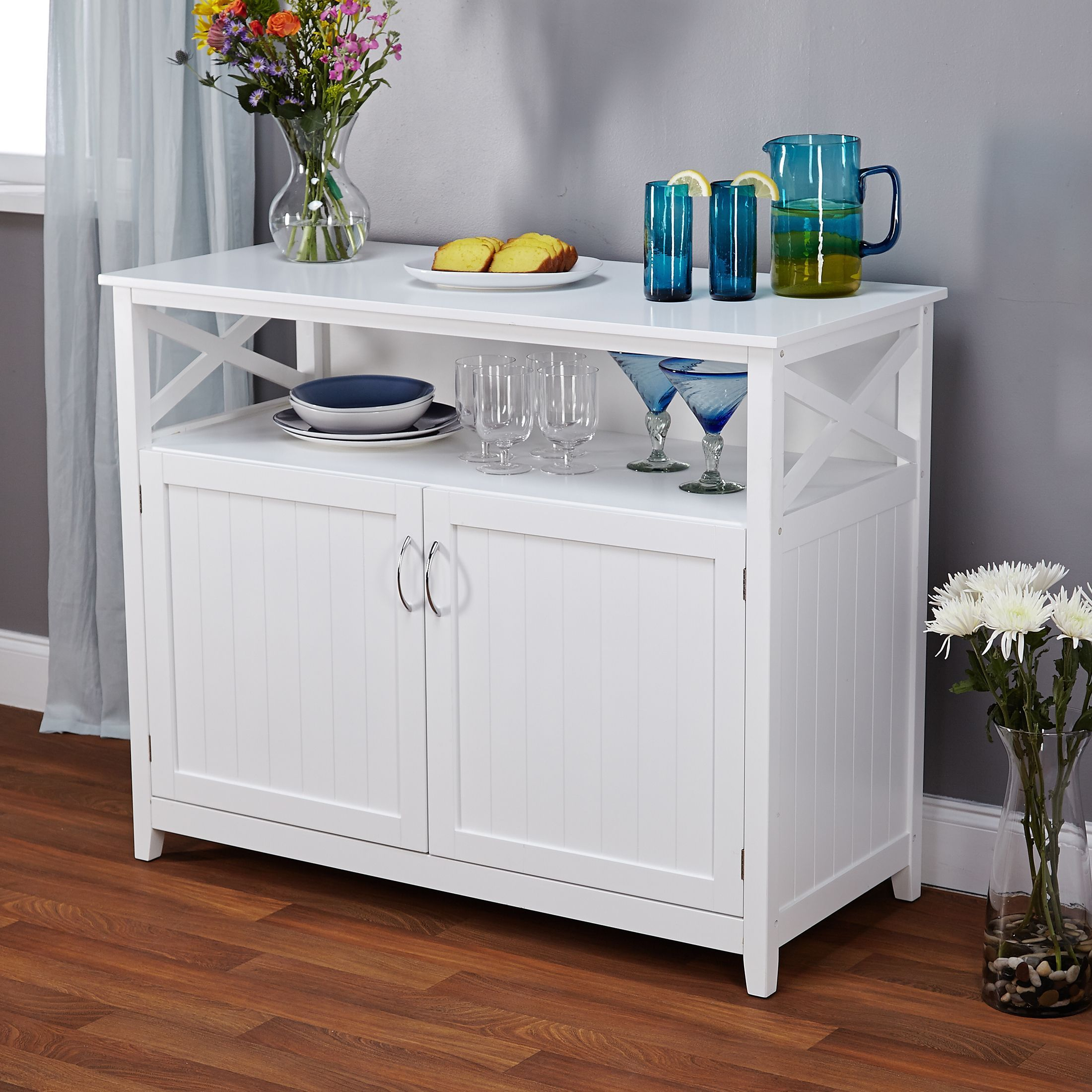 Simple Living Southport White Beadboard Buffet In 2019 With Simple Living Southport Dining Buffets (View 22 of 30)