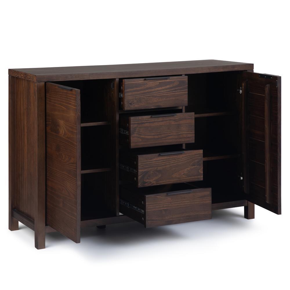 Simpli Home Hollander Solid Wood 54 In (View 17 of 30)