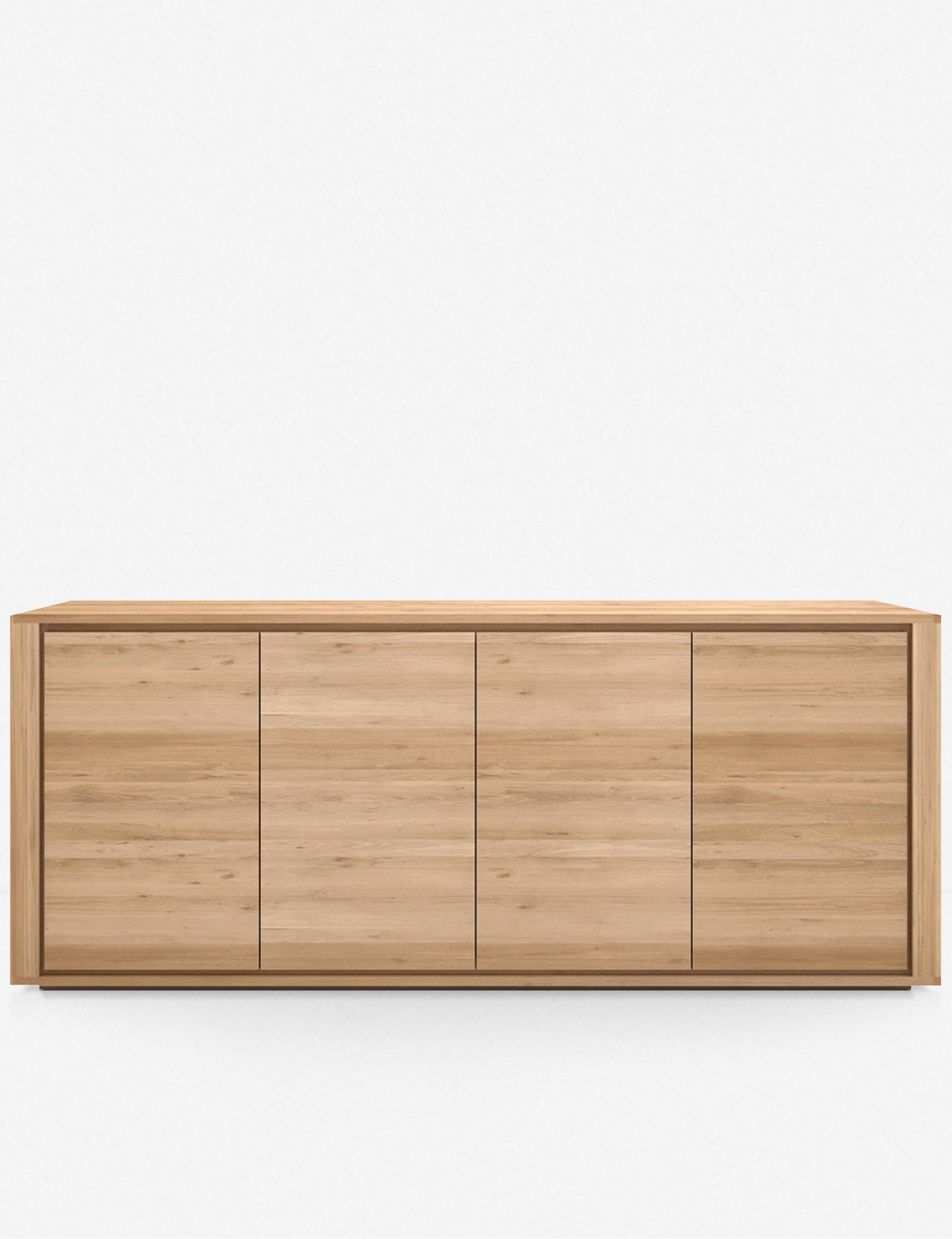 Stella 4 Door Sideboard, Oak With Stella Sideboards (View 20 of 30)