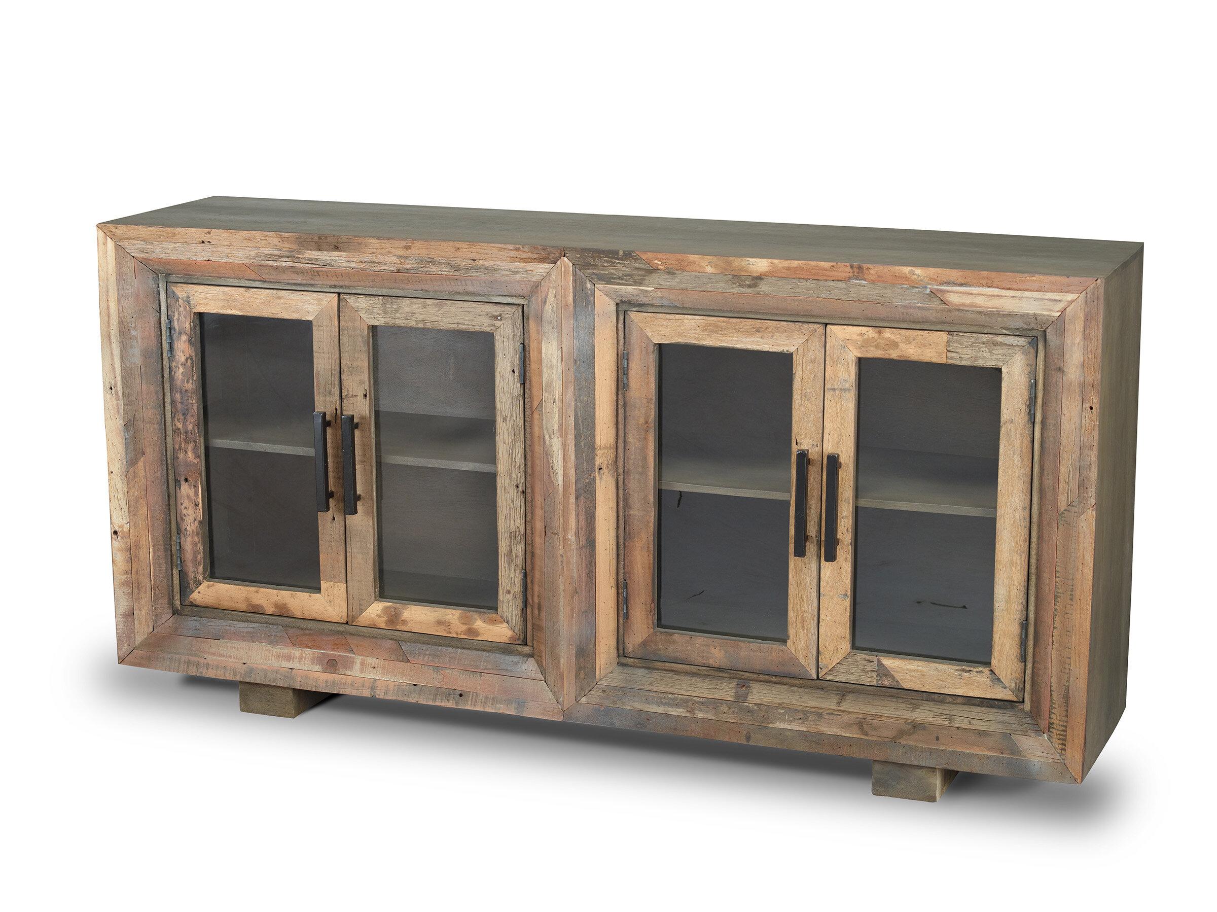 Stender 4 Door Sideboard with regard to Arminta Wood Sideboards (Image 27 of 30)