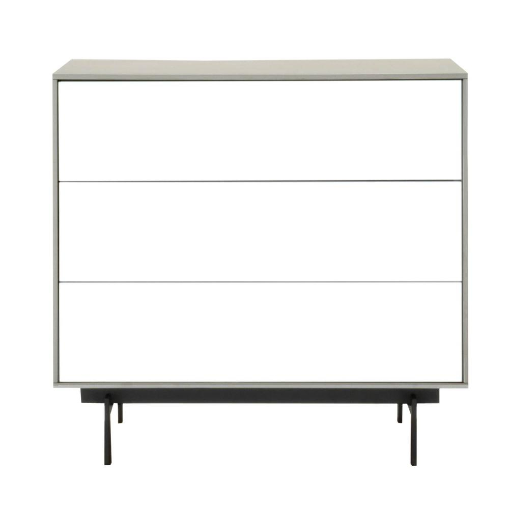 Symphony 3-Drawer Modular Buffetessentials For Living pertaining to 3-Drawer Black Storage Buffets (Image 27 of 30)