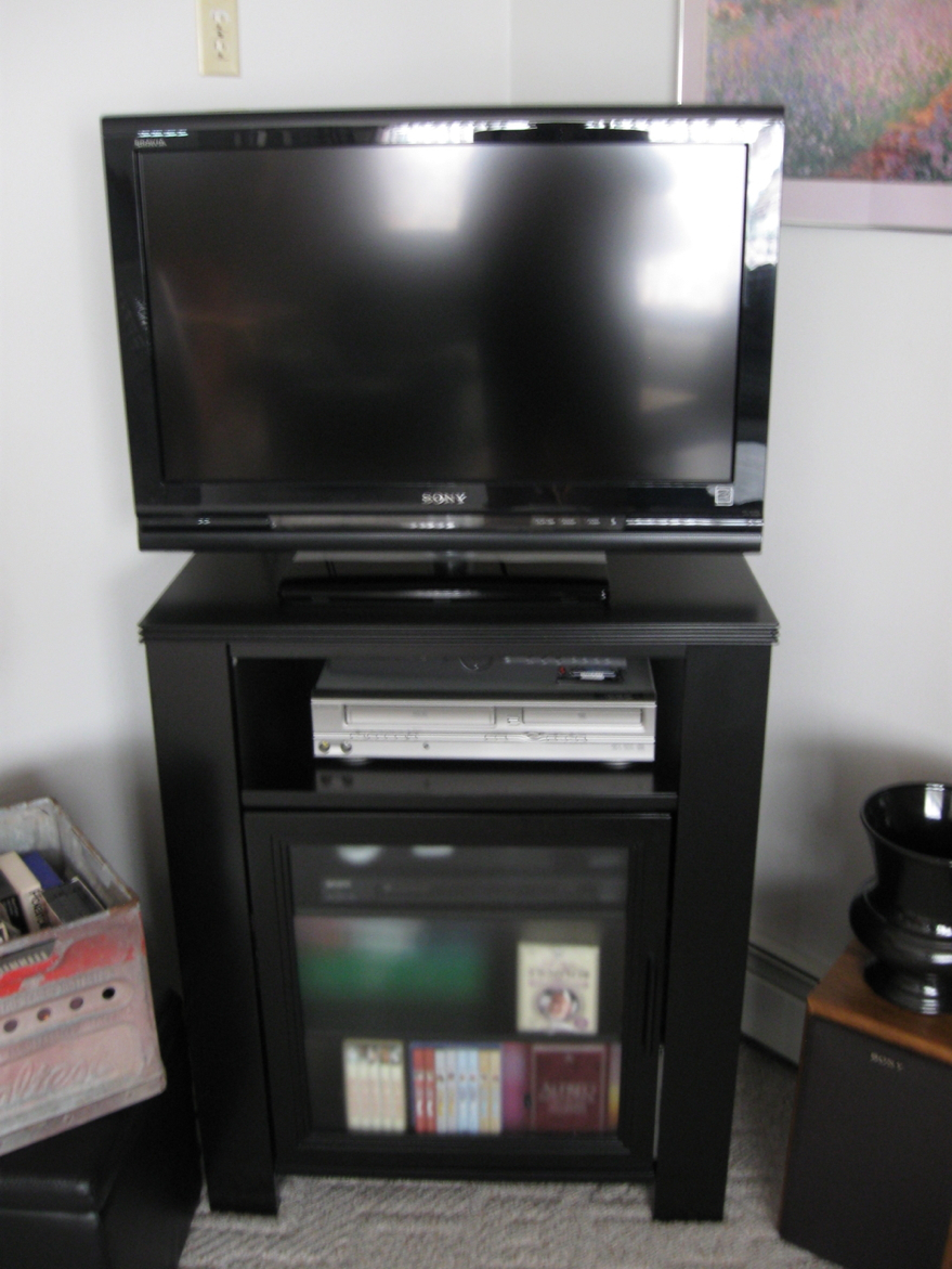 Television Novelites And Quandries | Wakdjunkaga's Blog With Regard To Simple Living Montego Black Wooden Buffets (View 28 of 30)
