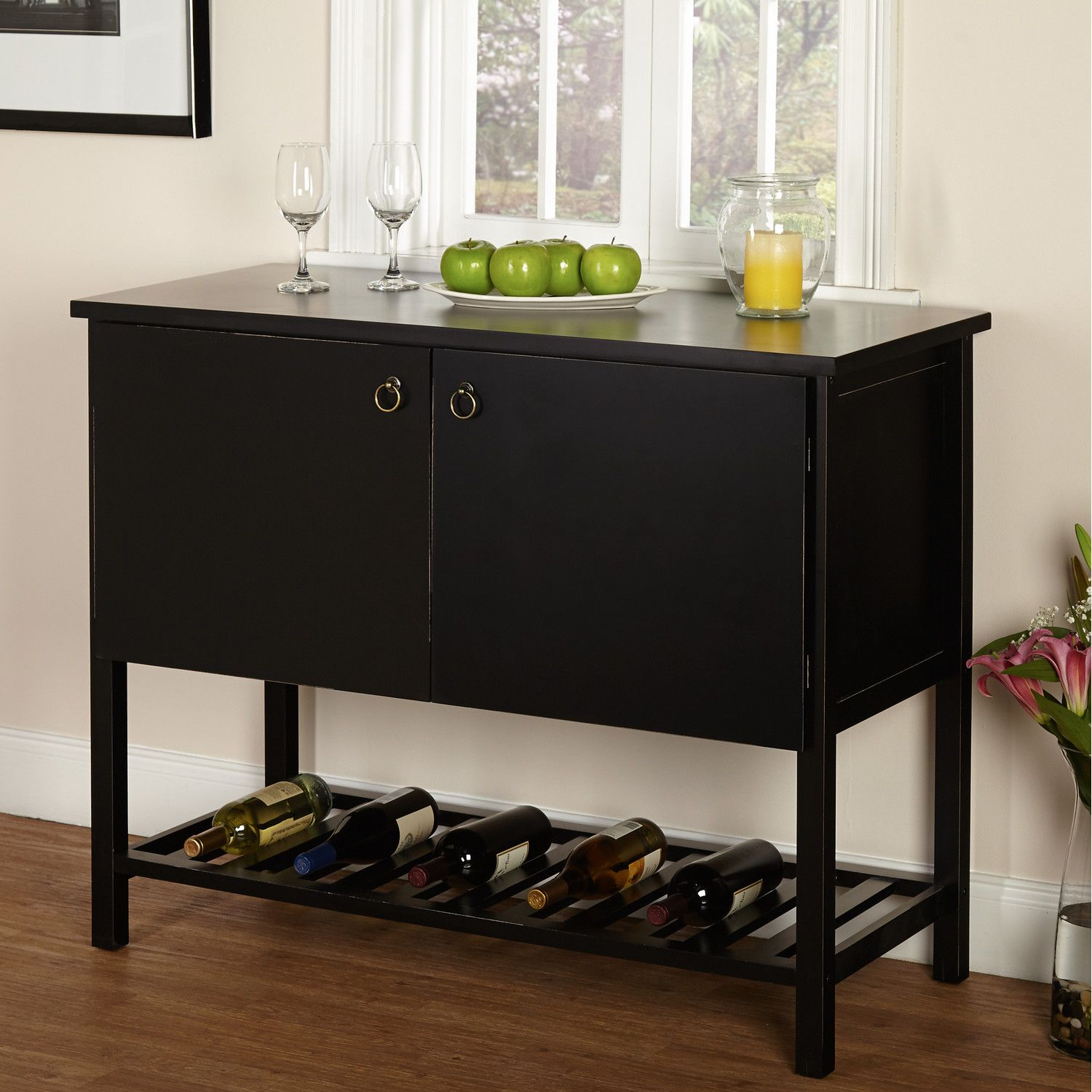 Tms Harvey Buffet | Ljc | Buffet, Wine Shelves, Sideboard Buffet Pertaining To Simple Living Montego Black Wooden Buffets (View 29 of 30)