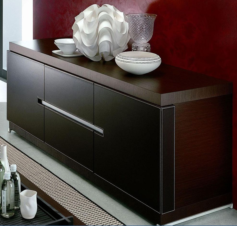 Top 7 Luxurious Dark Wood Sideboards / Buffets – Cute Furniture For Solid Wood Contemporary Sideboards Buffets (View 24 of 30)