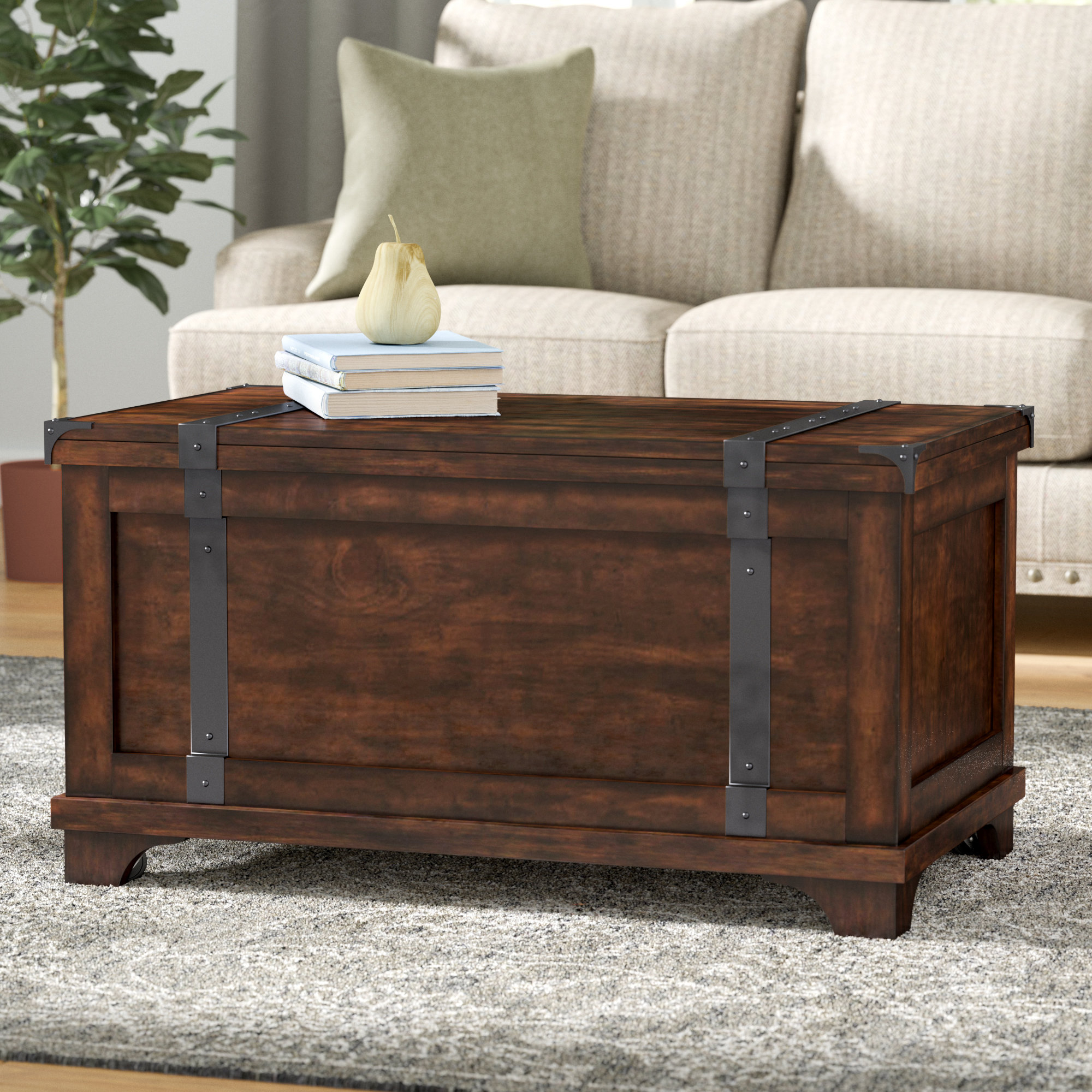Toy Chest Coffee Table | Wayfair Inside Summer Desire Credenzas (View 25 of 30)