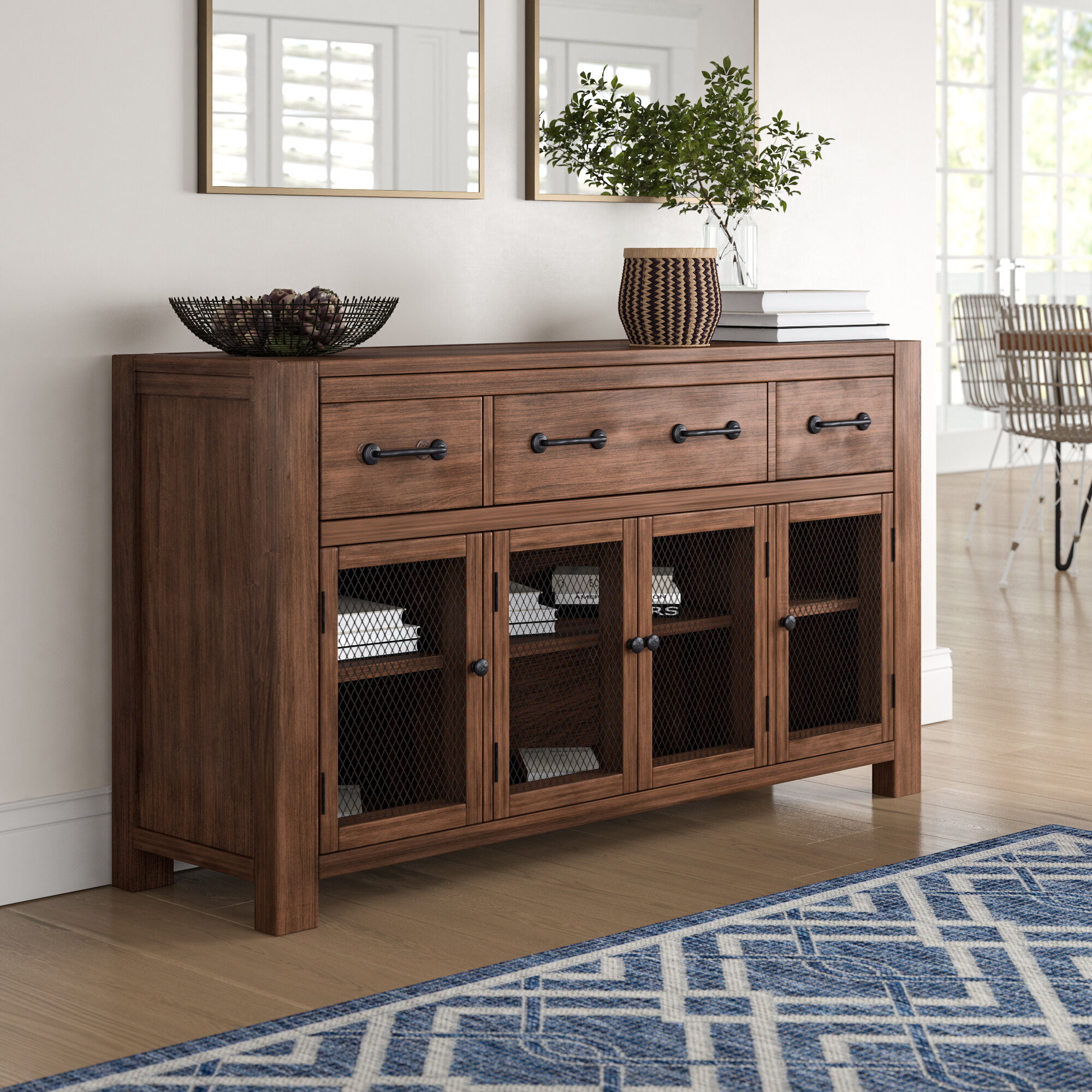 Transitional Buffet | Wayfair pertaining to Saucedo Rustic White Buffets (Image 24 of 30)
